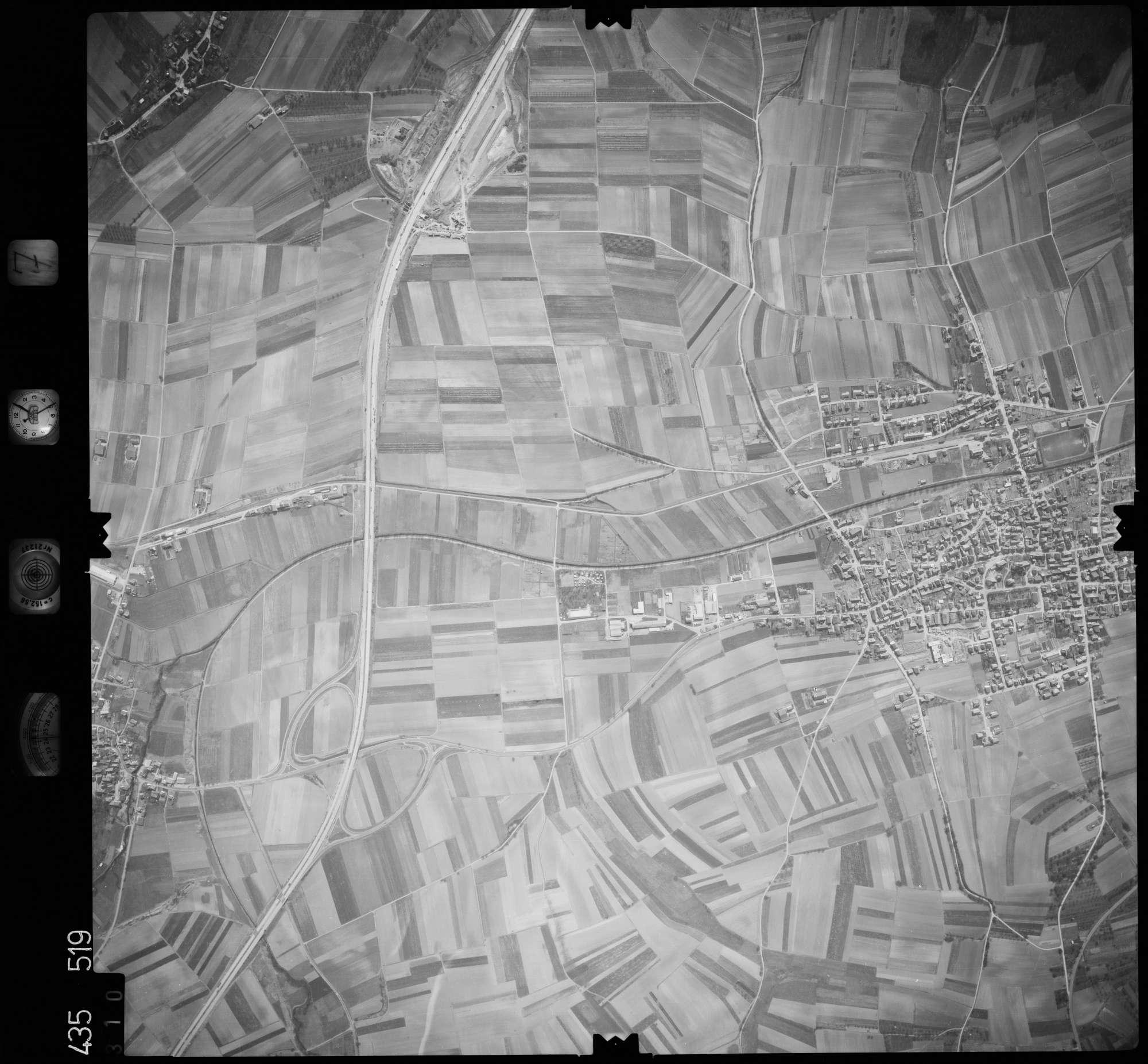 Luftbild: Film 7 Bildnr. 310, Bild 1