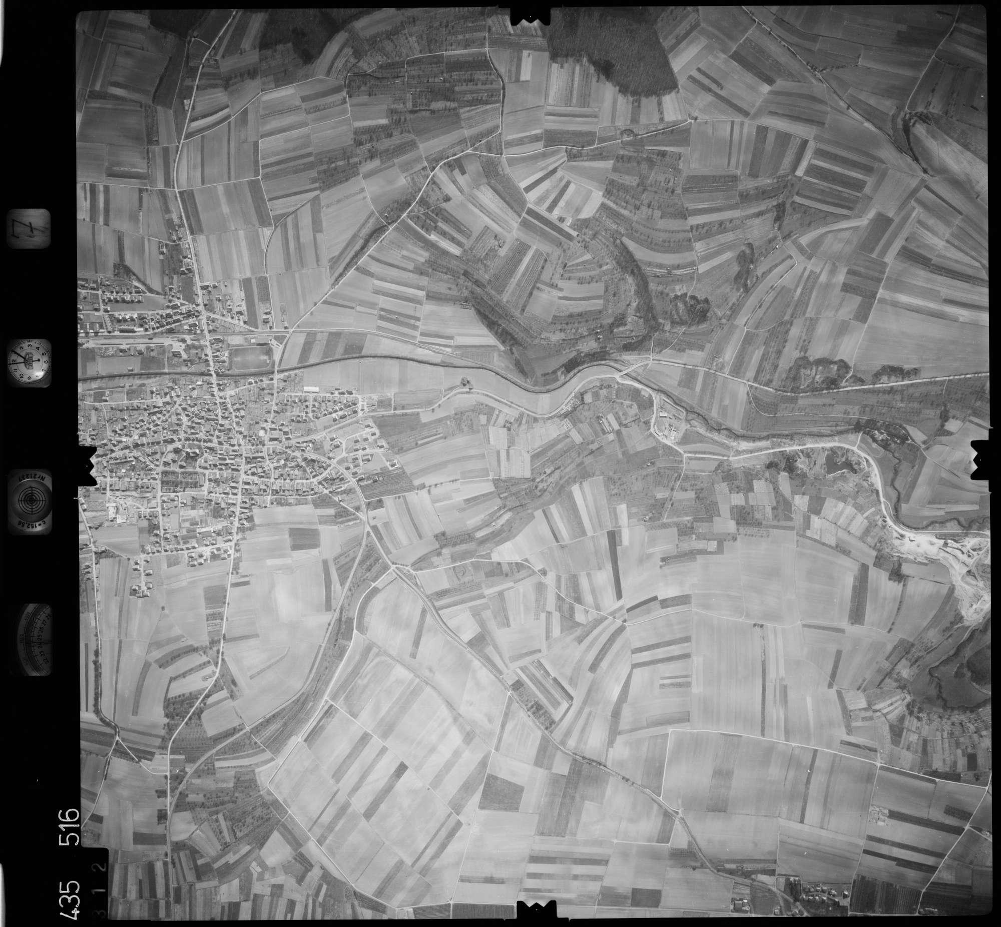 Luftbild: Film 7 Bildnr. 312, Bild 1