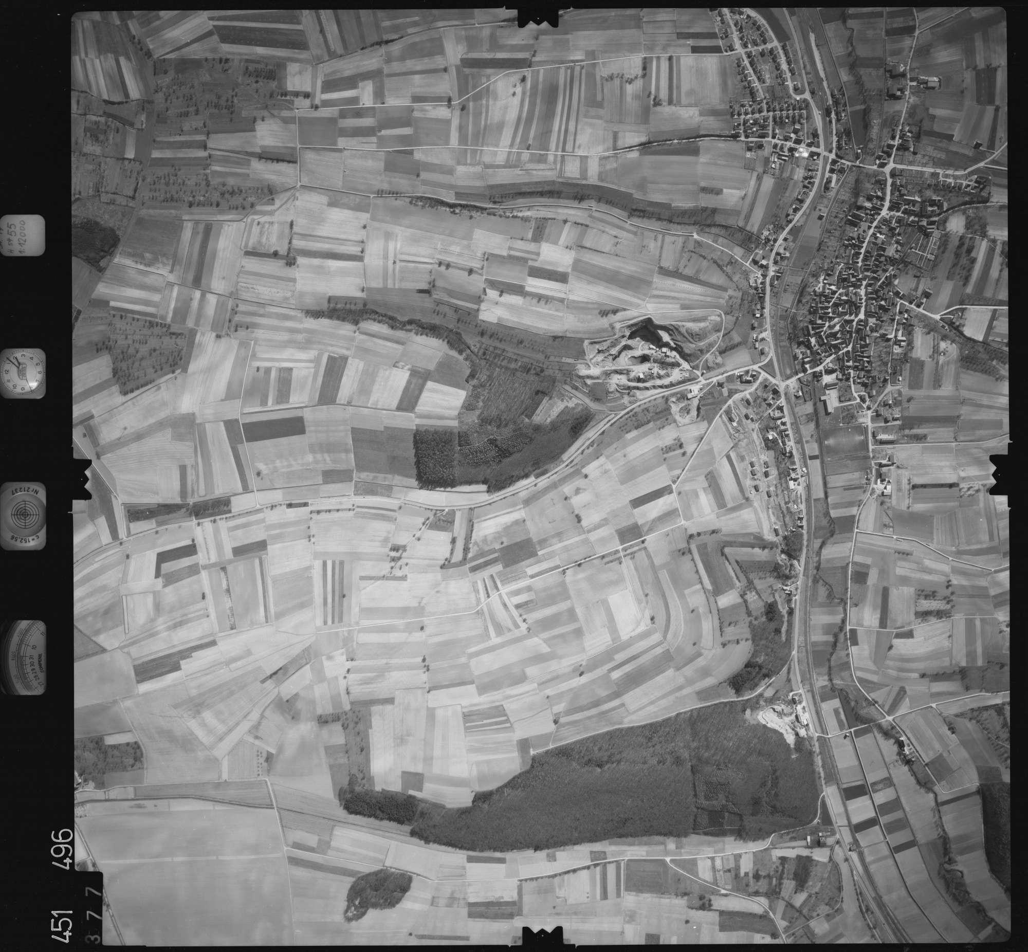 Luftbild: Film 15 Bildnr. 377, Bild 1