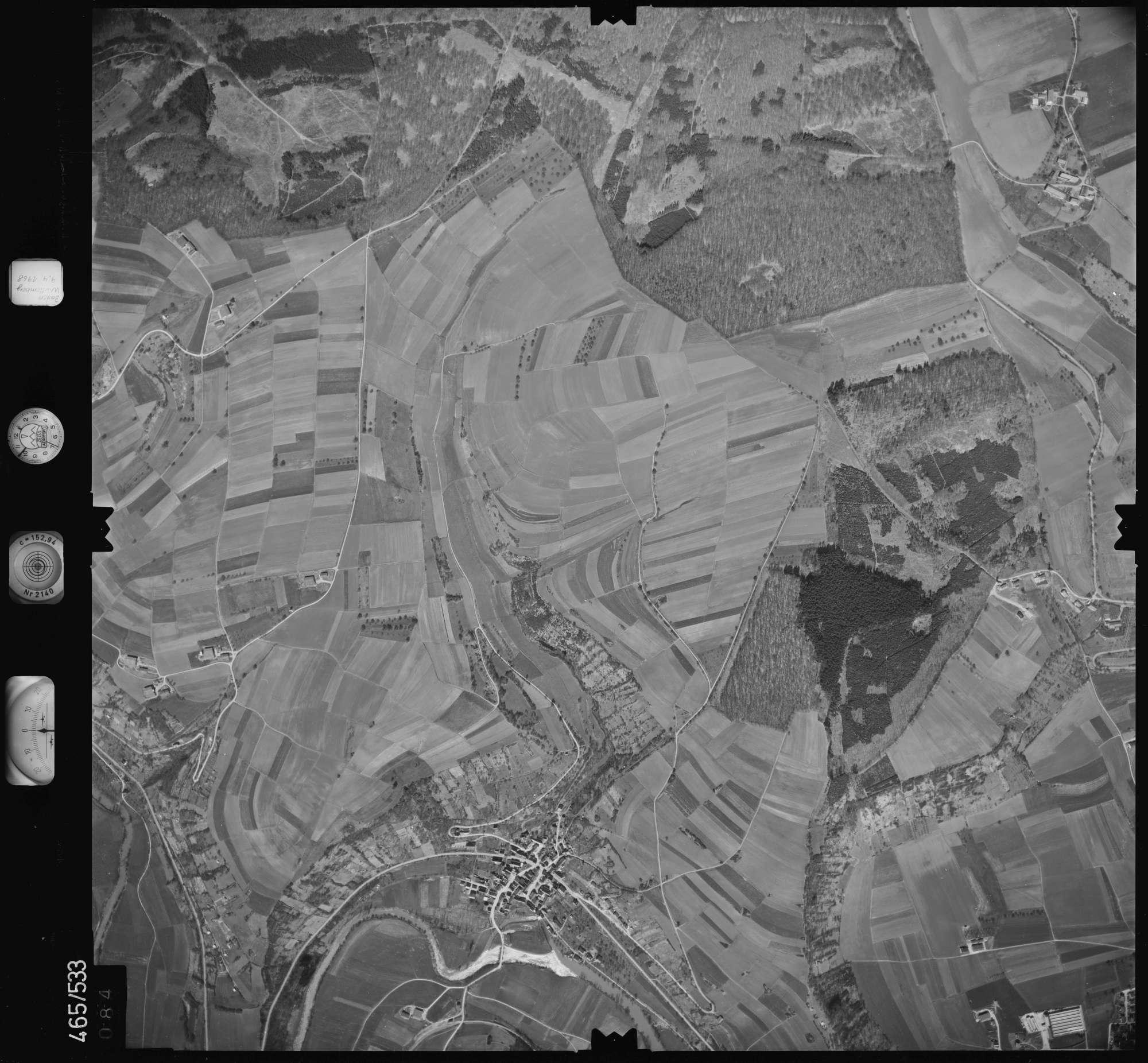 Luftbild: Film 102 Bildnr. 84, Bild 1