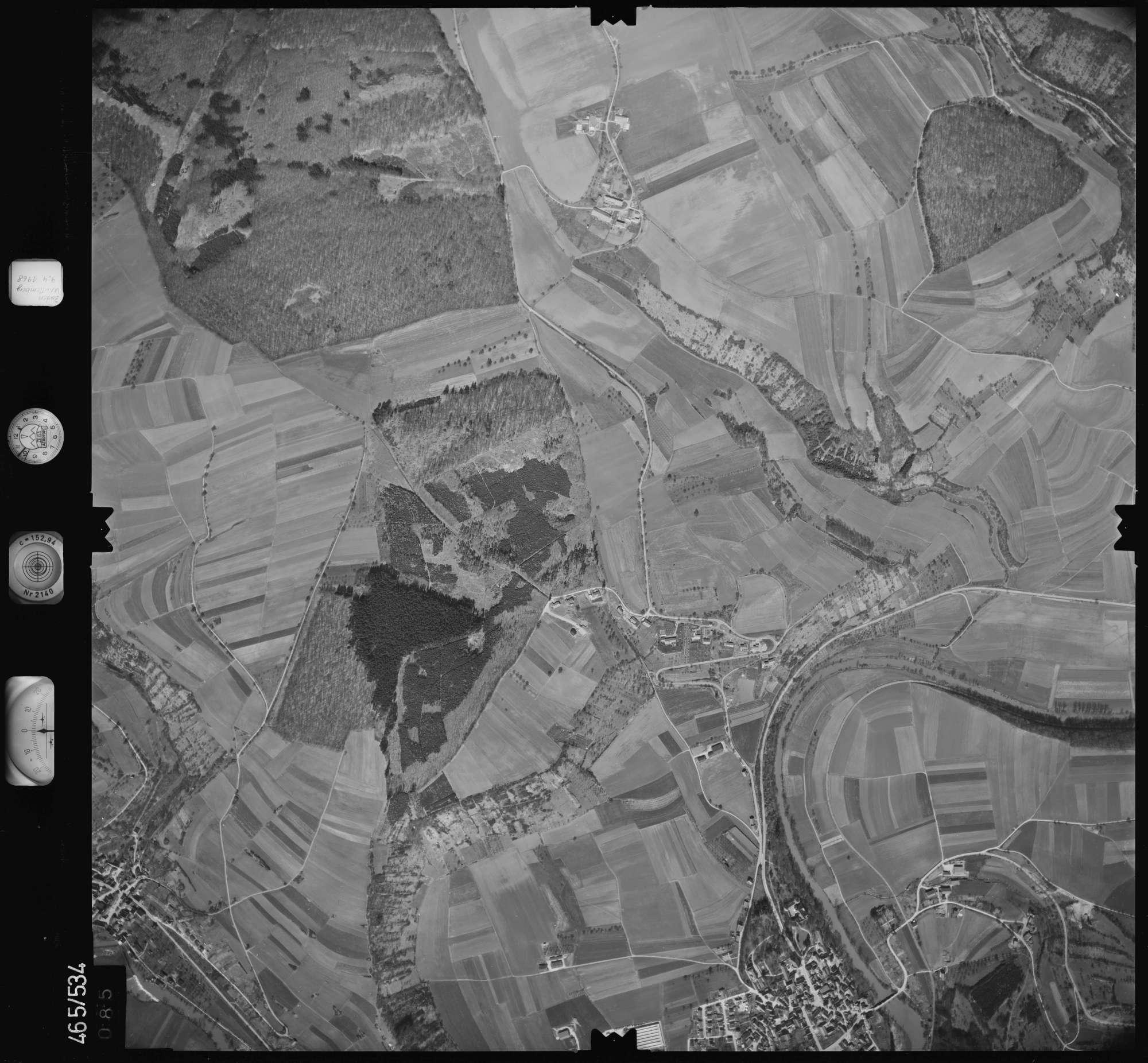 Luftbild: Film 102 Bildnr. 85, Bild 1