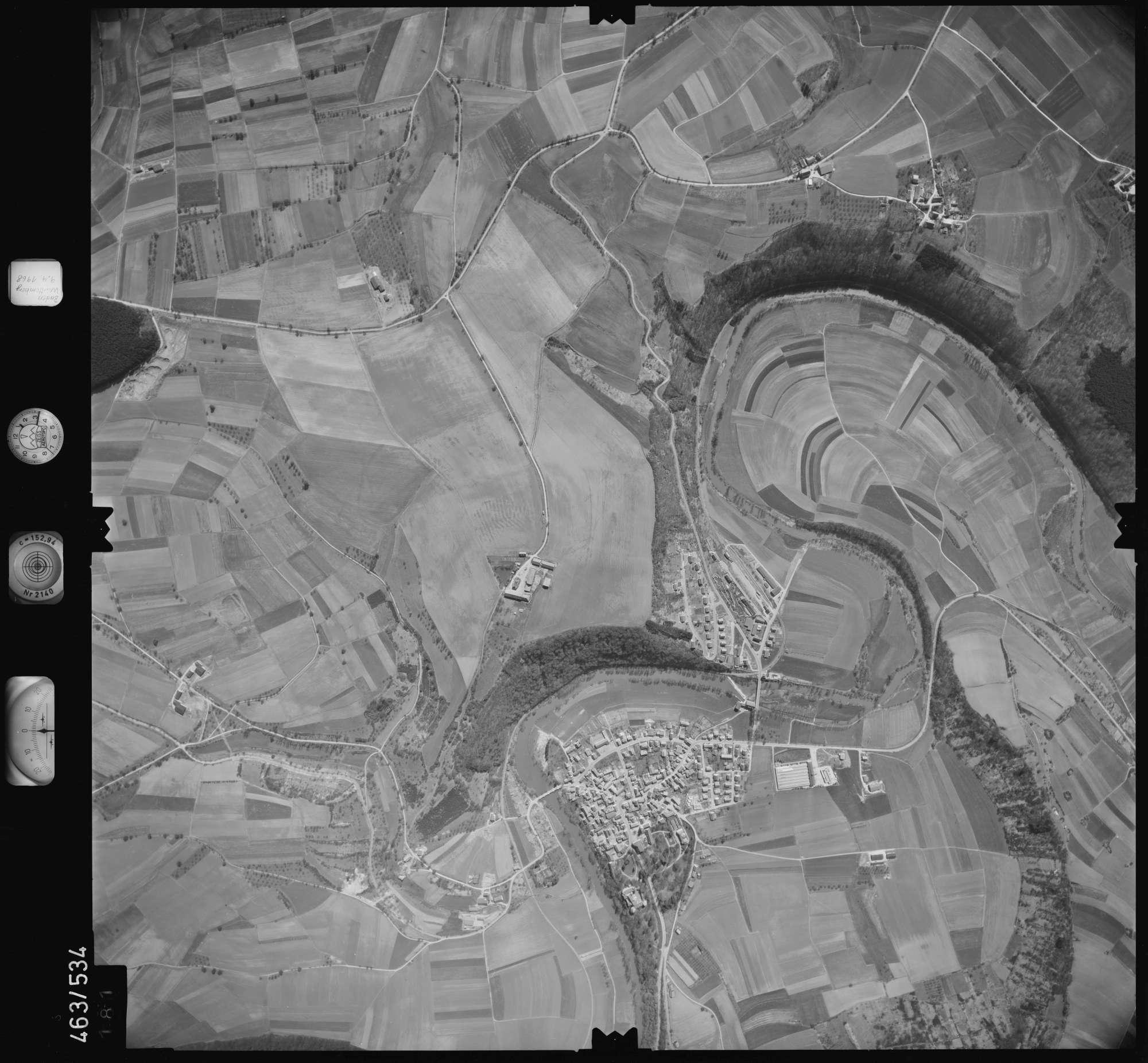 Luftbild: Film 102 Bildnr. 181, Bild 1