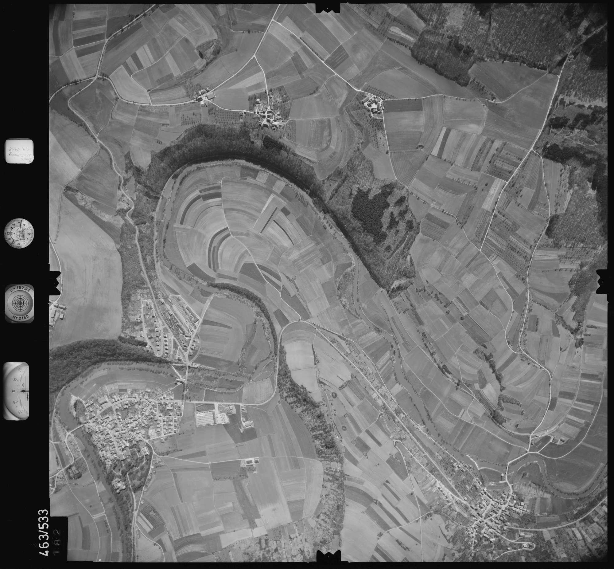 Luftbild: Film 102 Bildnr. 182, Bild 1