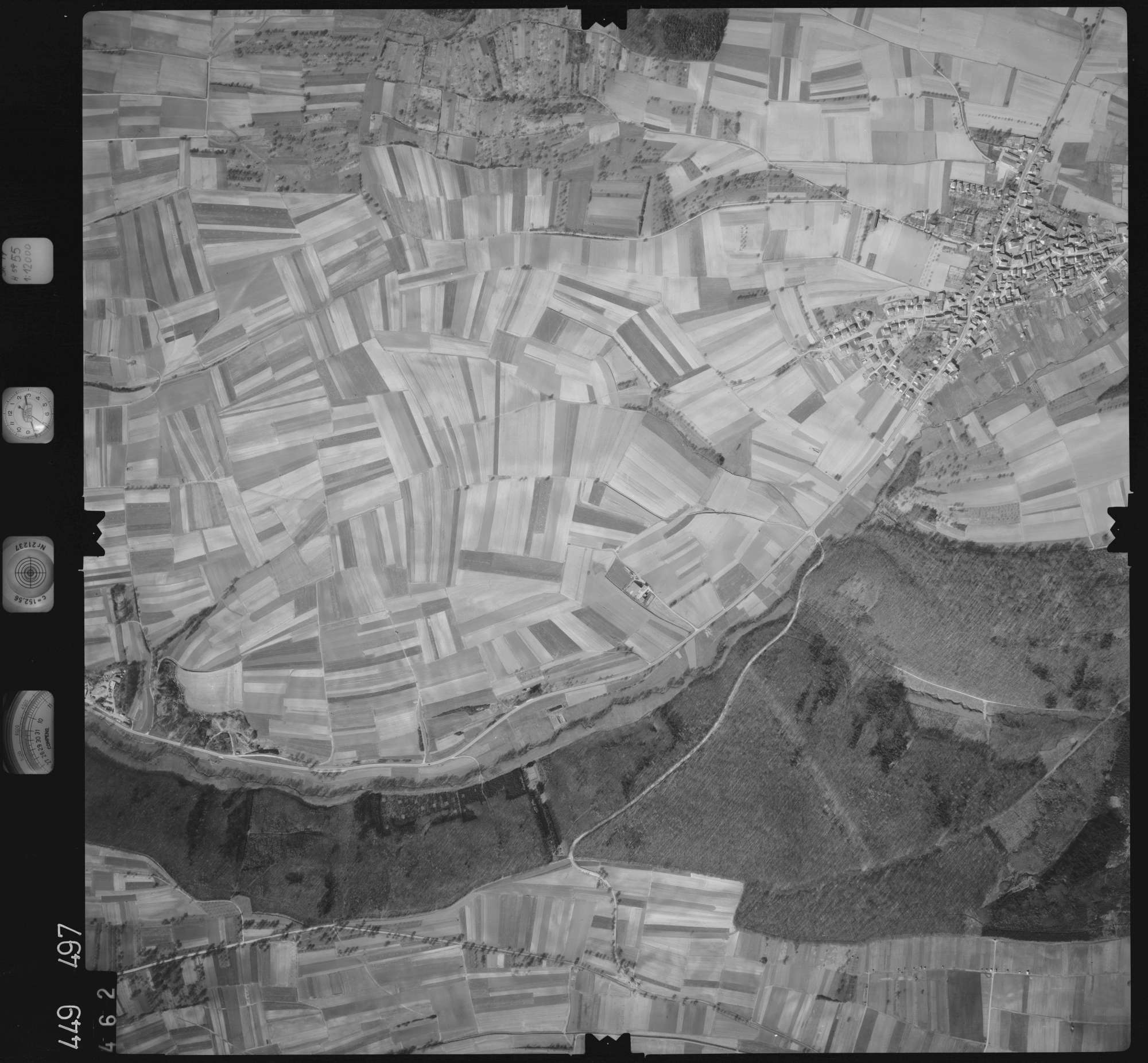 Luftbild: Film 14 Bildnr. 462, Bild 1