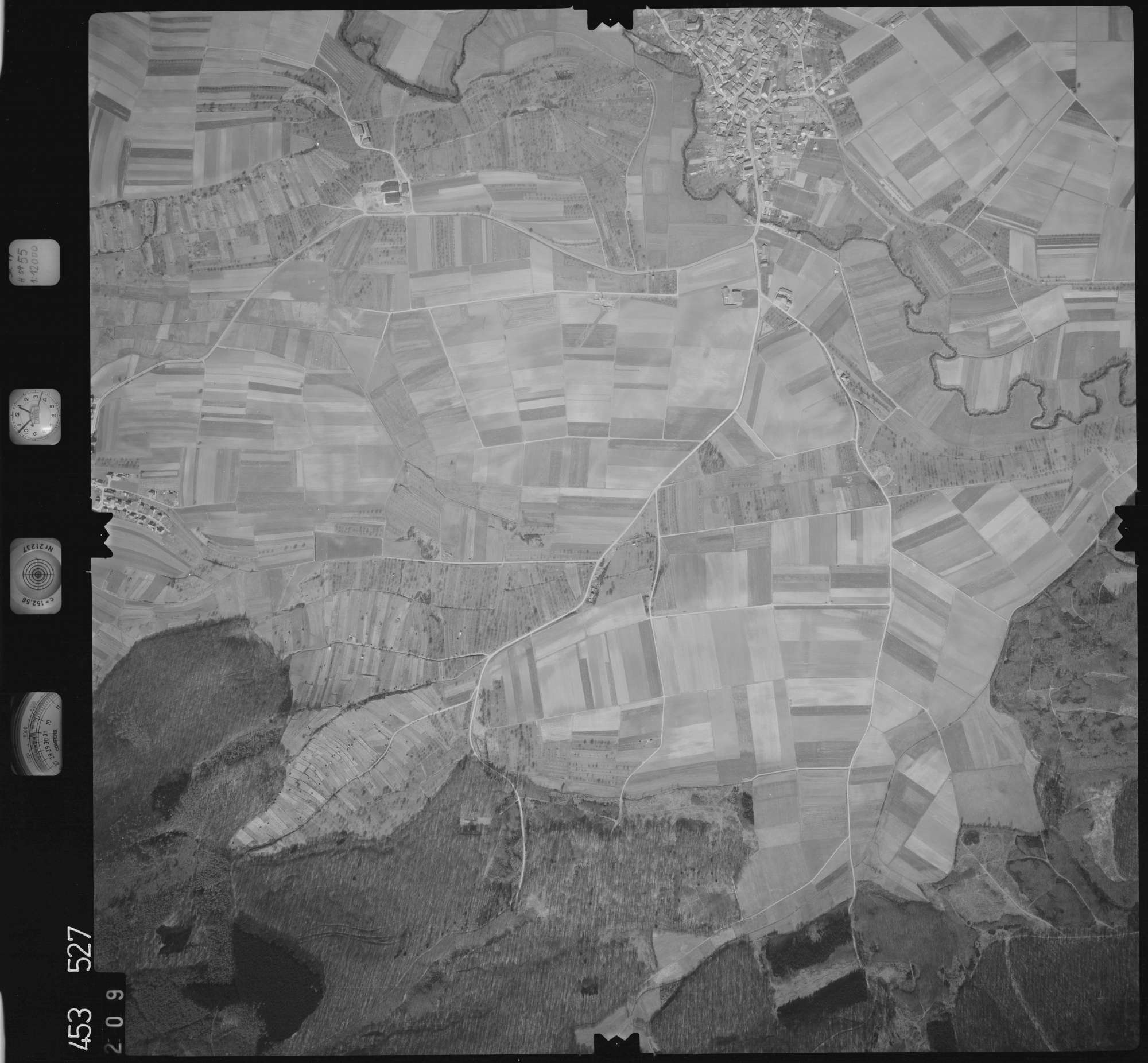 Luftbild: Film 16 Bildnr. 209, Bild 1