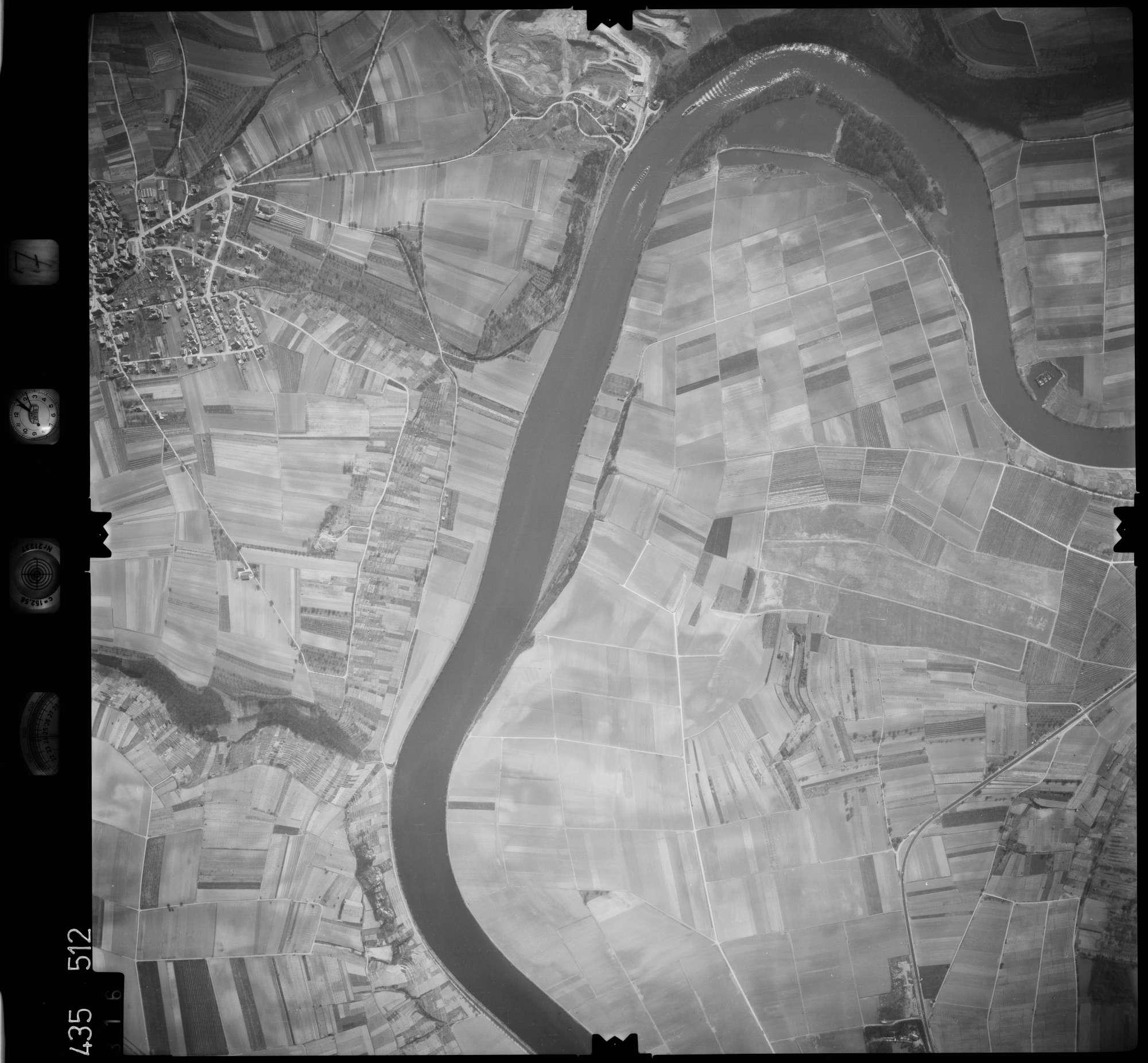 Luftbild: Film 7 Bildnr. 316, Bild 1