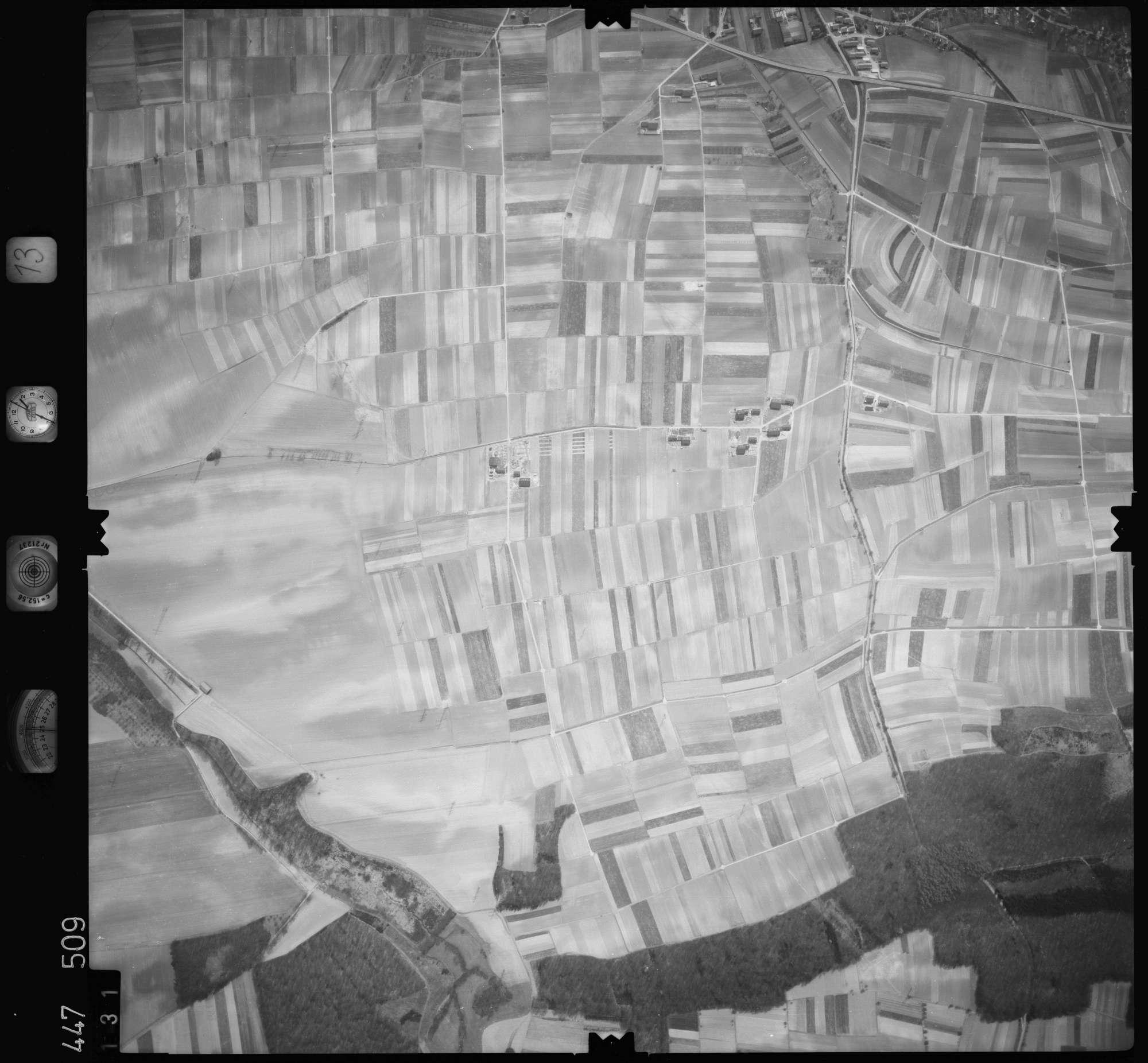 Luftbild: Film 13 Bildnr. 131, Bild 1
