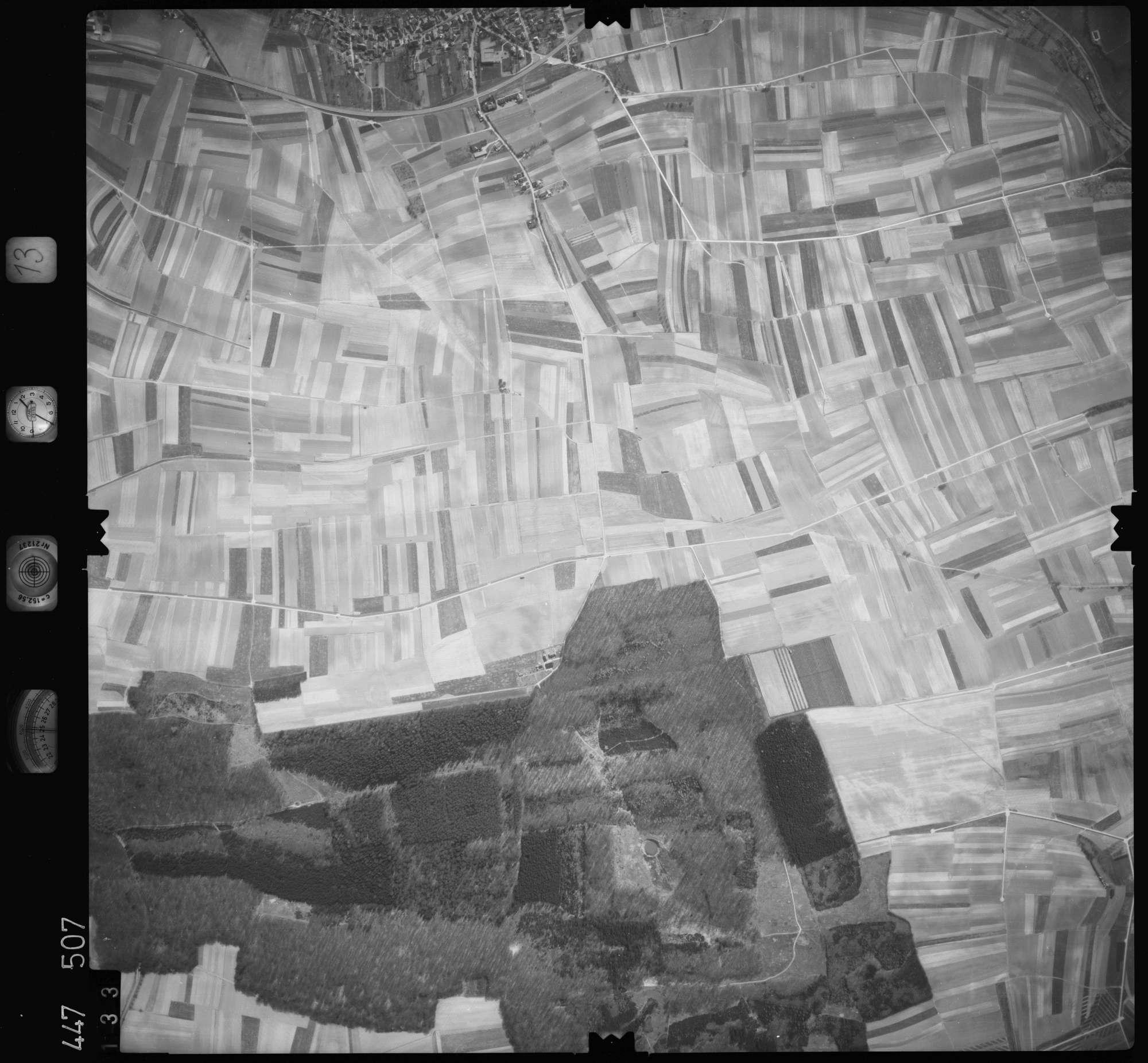 Luftbild: Film 13 Bildnr. 133, Bild 1