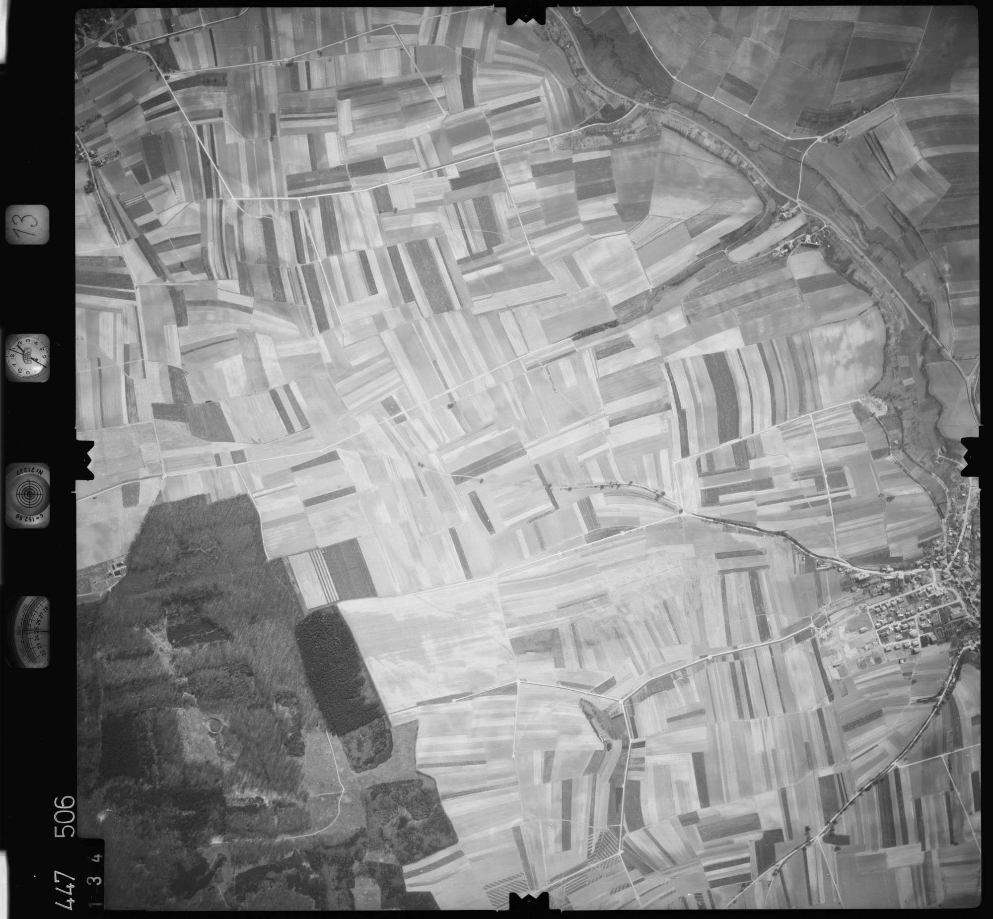 Luftbild: Film 13 Bildnr. 134, Bild 1