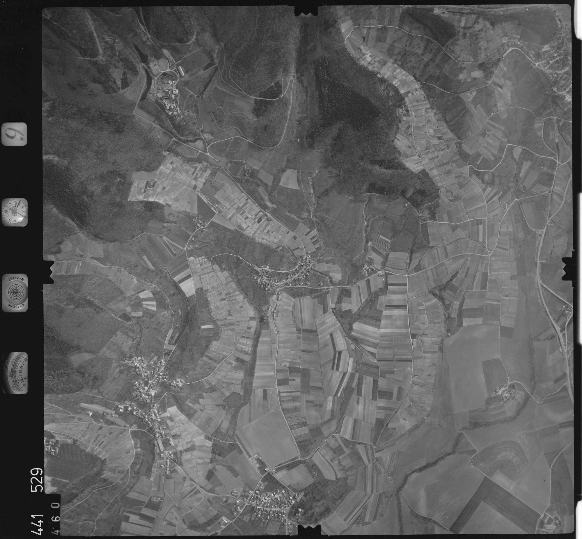 Luftbild: Film 10 Bildnr. 460, Bild 1