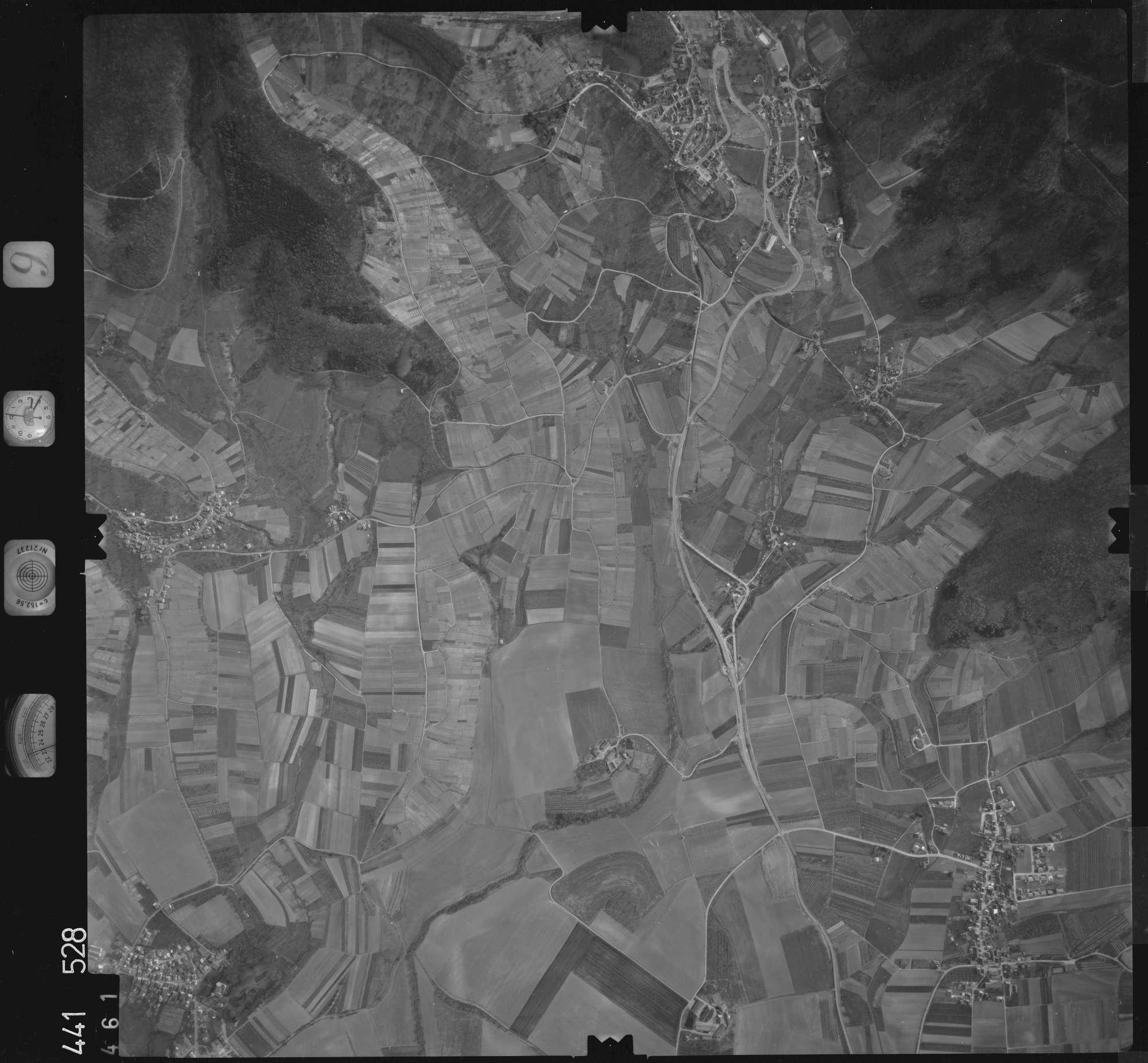 Luftbild: Film 10 Bildnr. 461, Bild 1