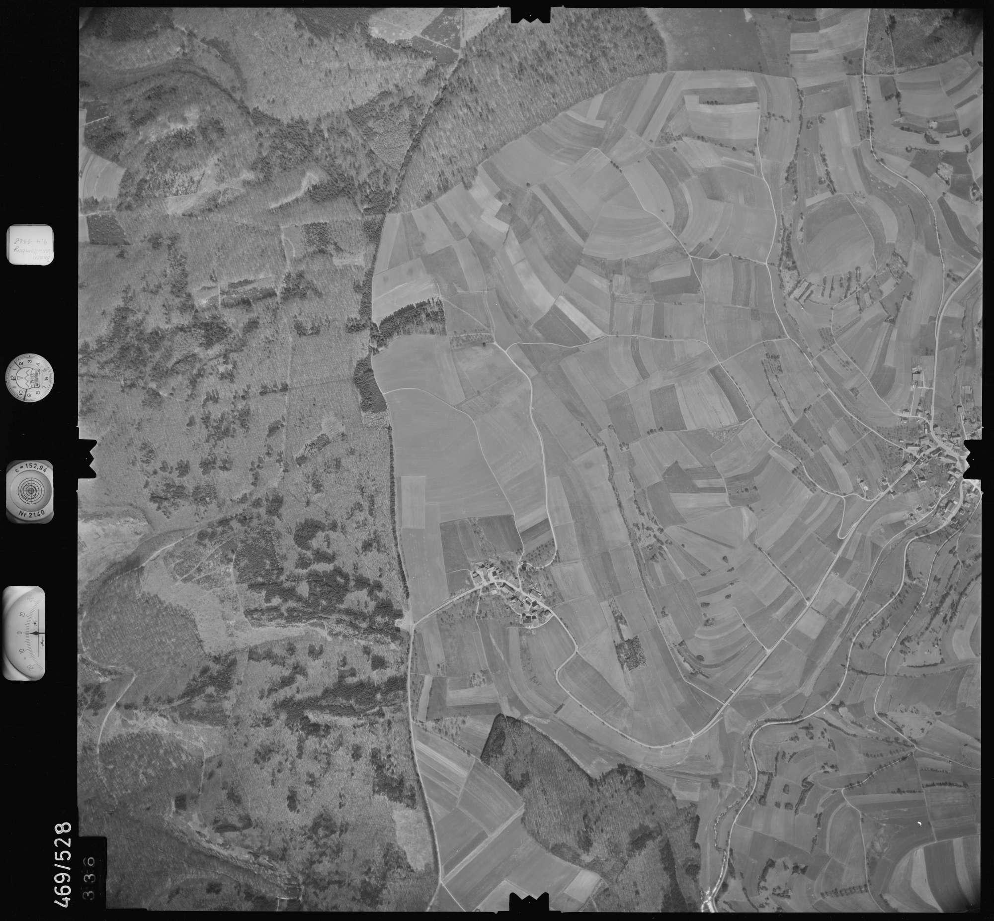 Luftbild: Film 101 Bildnr. 336, Bild 1