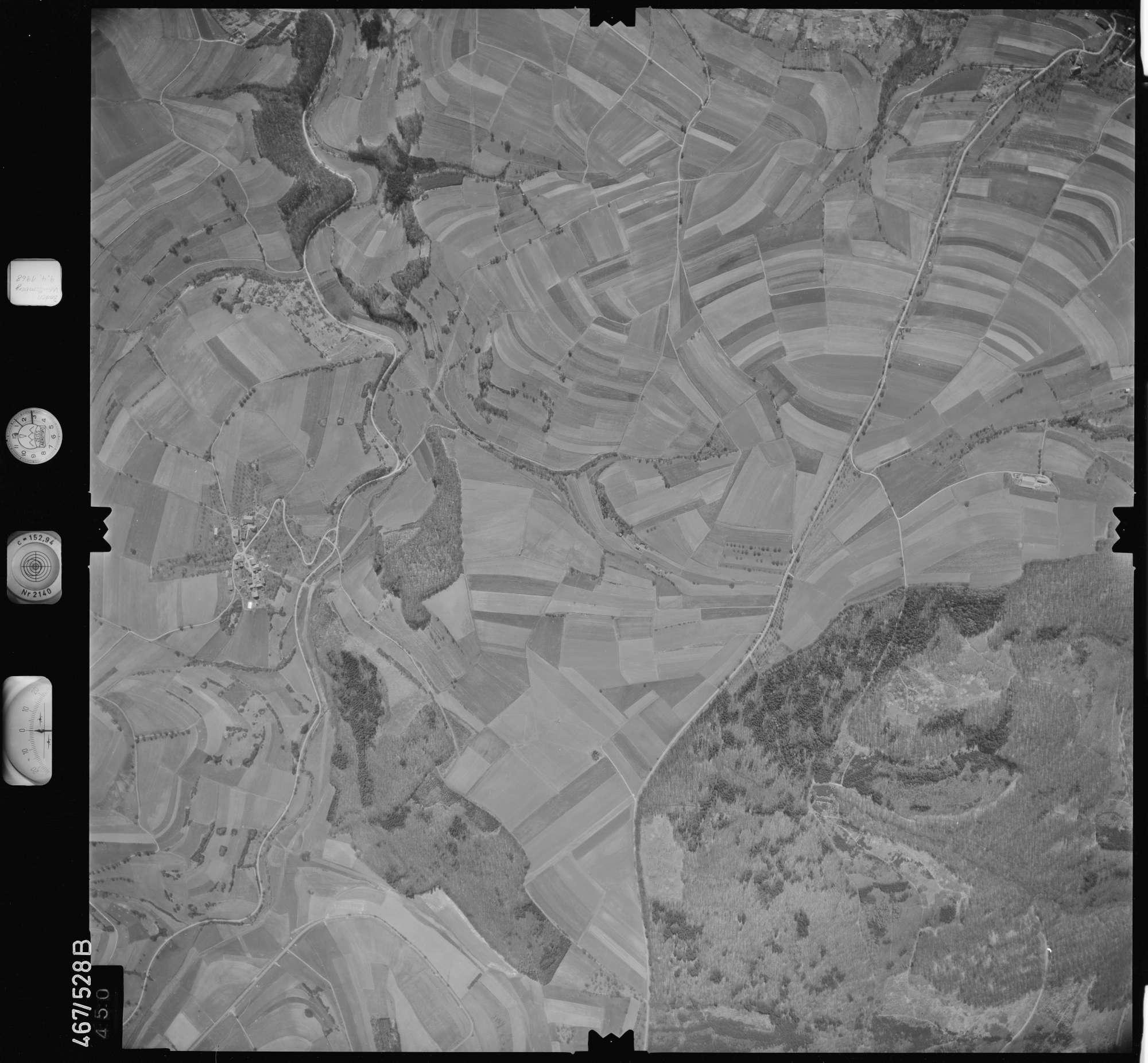 Luftbild: Film 101 Bildnr. 450, Bild 1