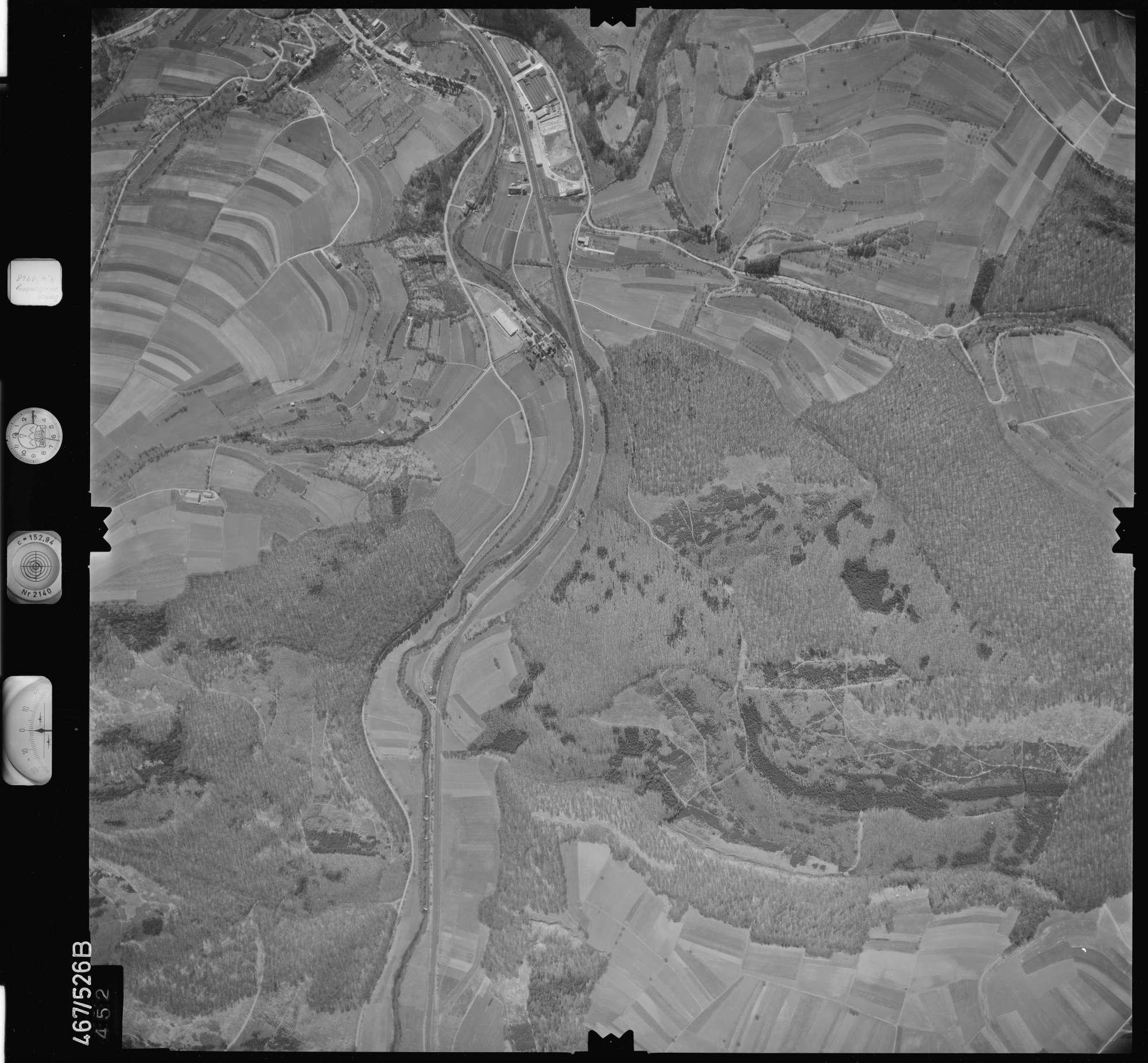 Luftbild: Film 101 Bildnr. 452, Bild 1