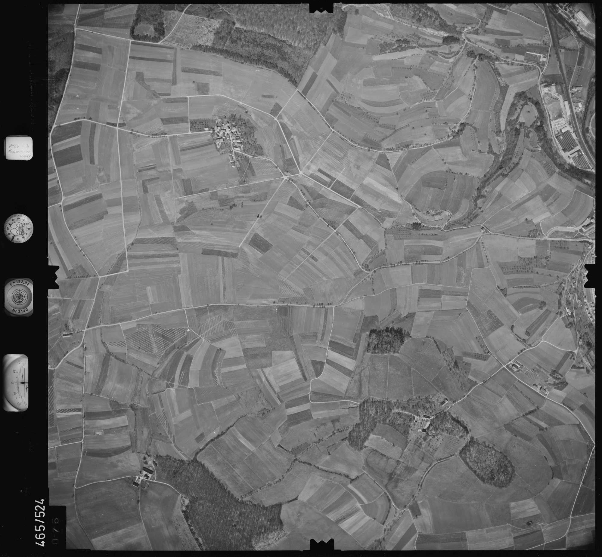 Luftbild: Film 102 Bildnr. 76, Bild 1