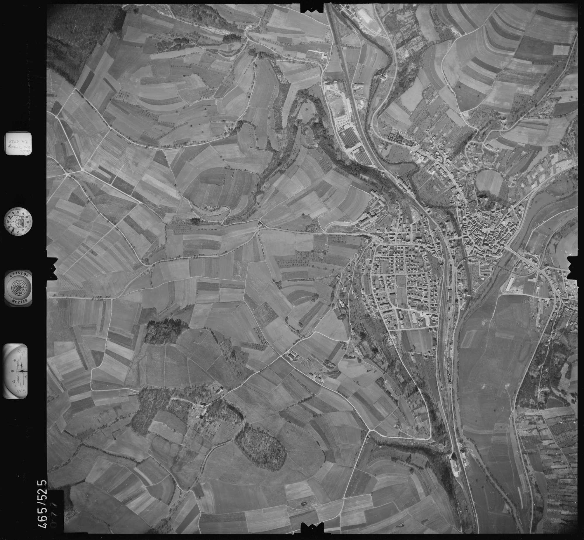 Luftbild: Film 102 Bildnr. 77, Bild 1