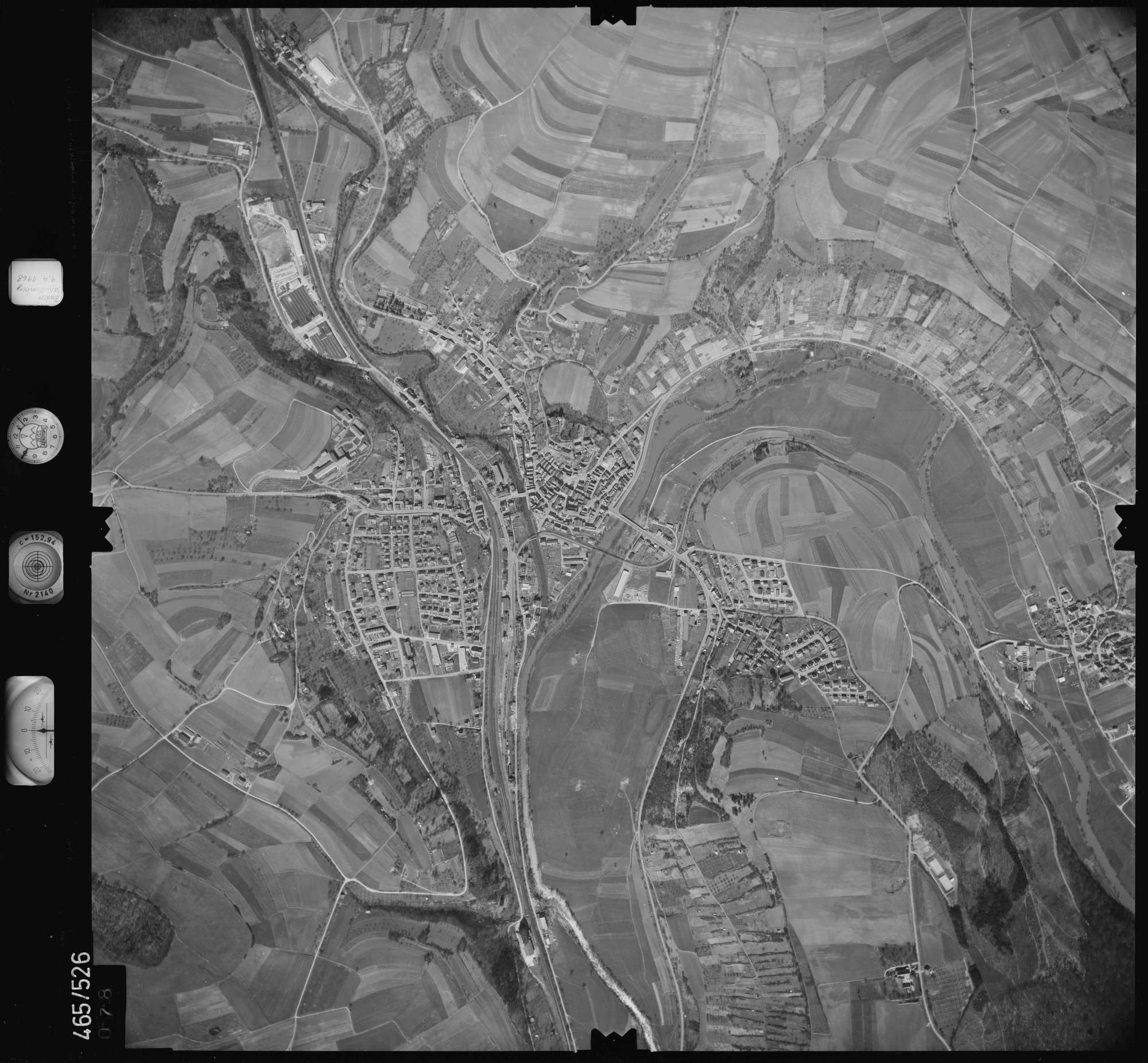 Luftbild: Film 102 Bildnr. 78, Bild 1