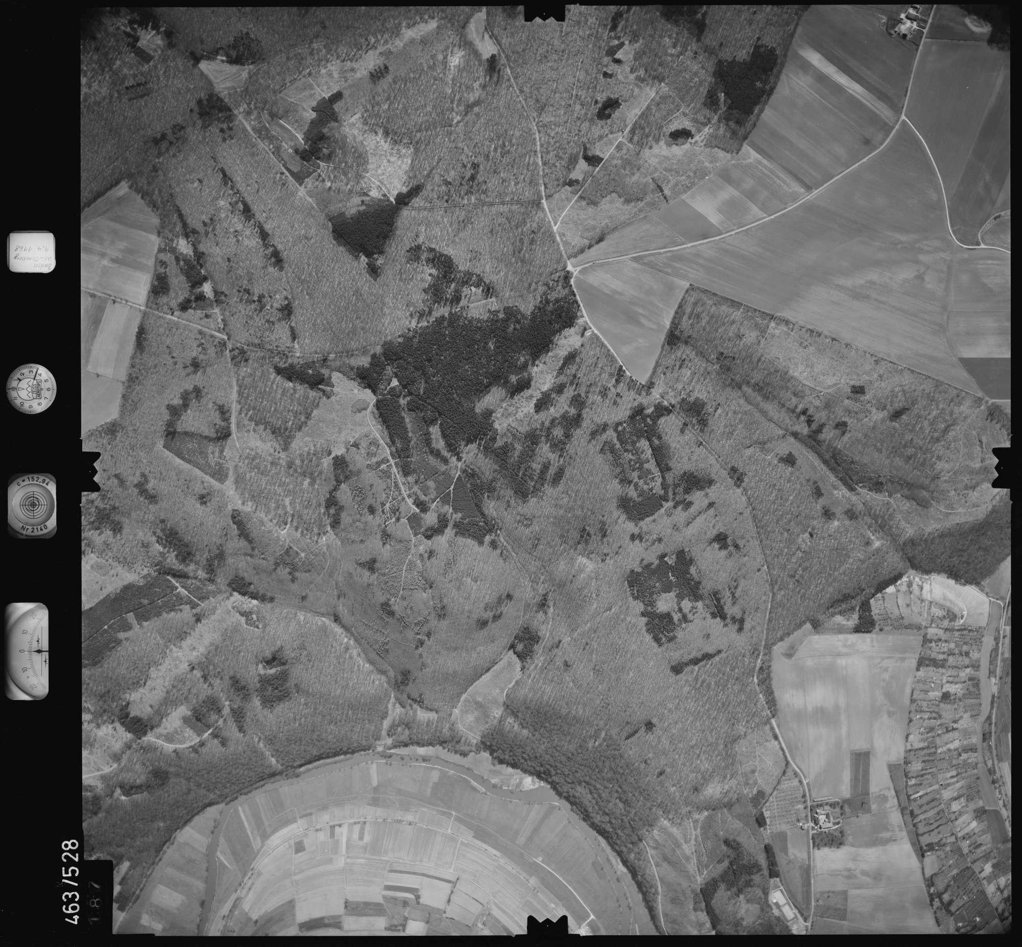 Luftbild: Film 102 Bildnr. 187, Bild 1