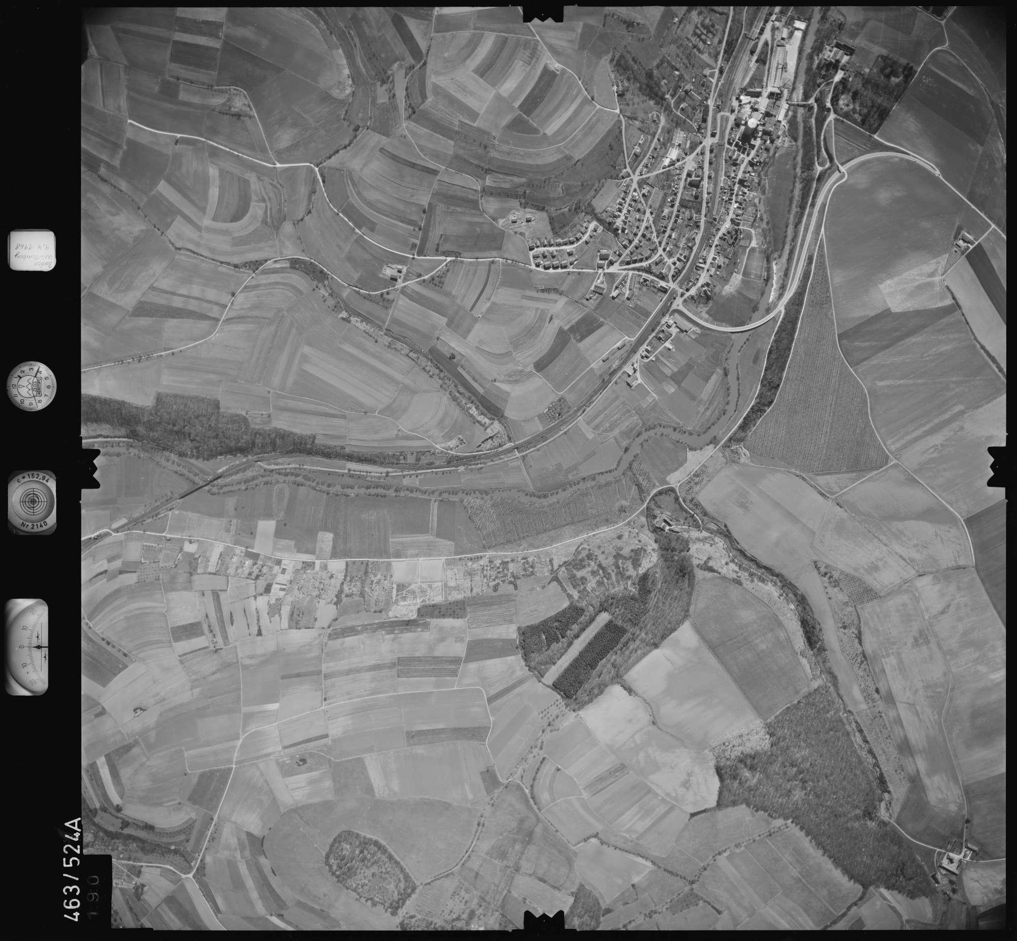 Luftbild: Film 102 Bildnr. 190, Bild 1