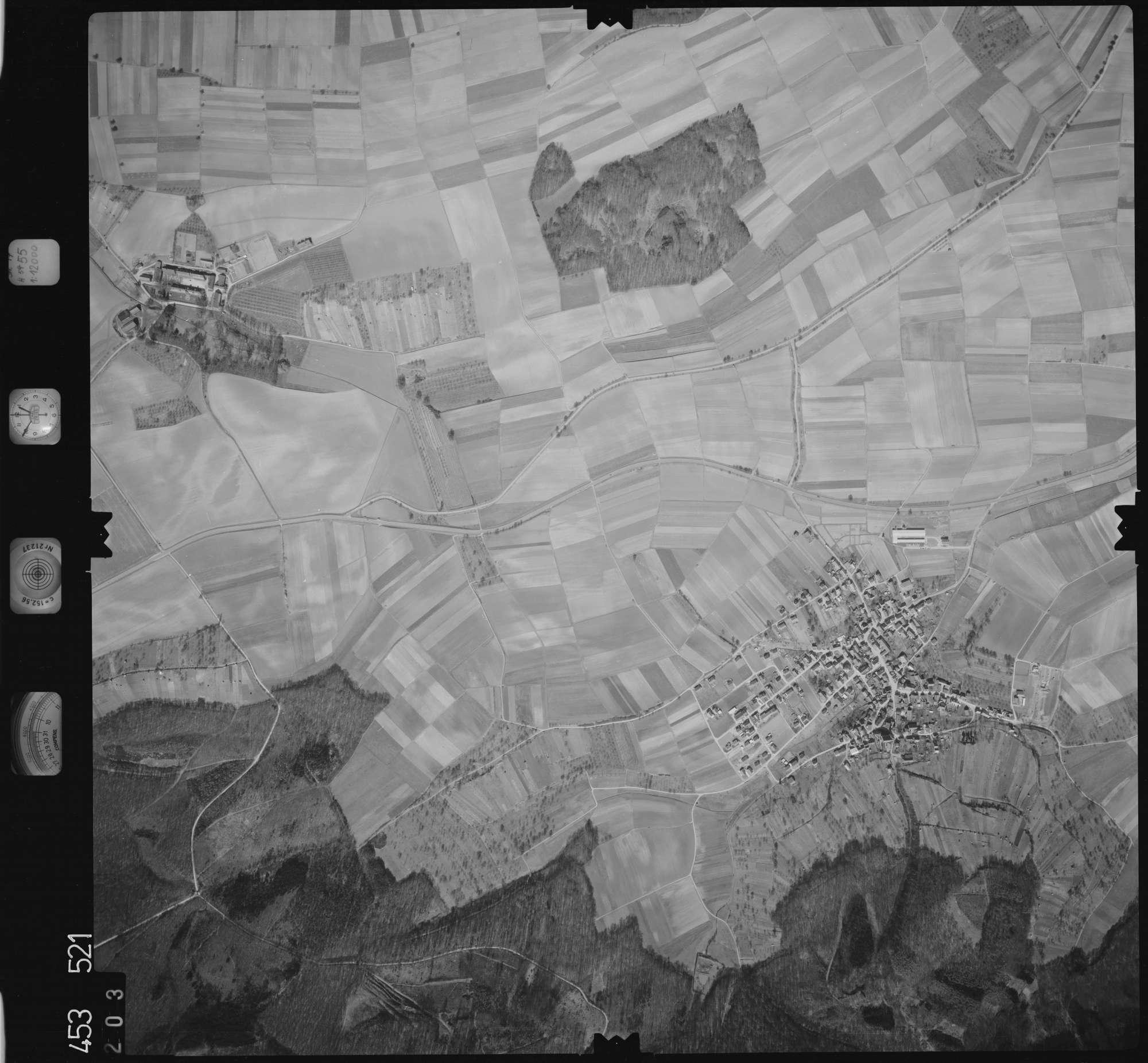 Luftbild: Film 16 Bildnr. 203, Bild 1
