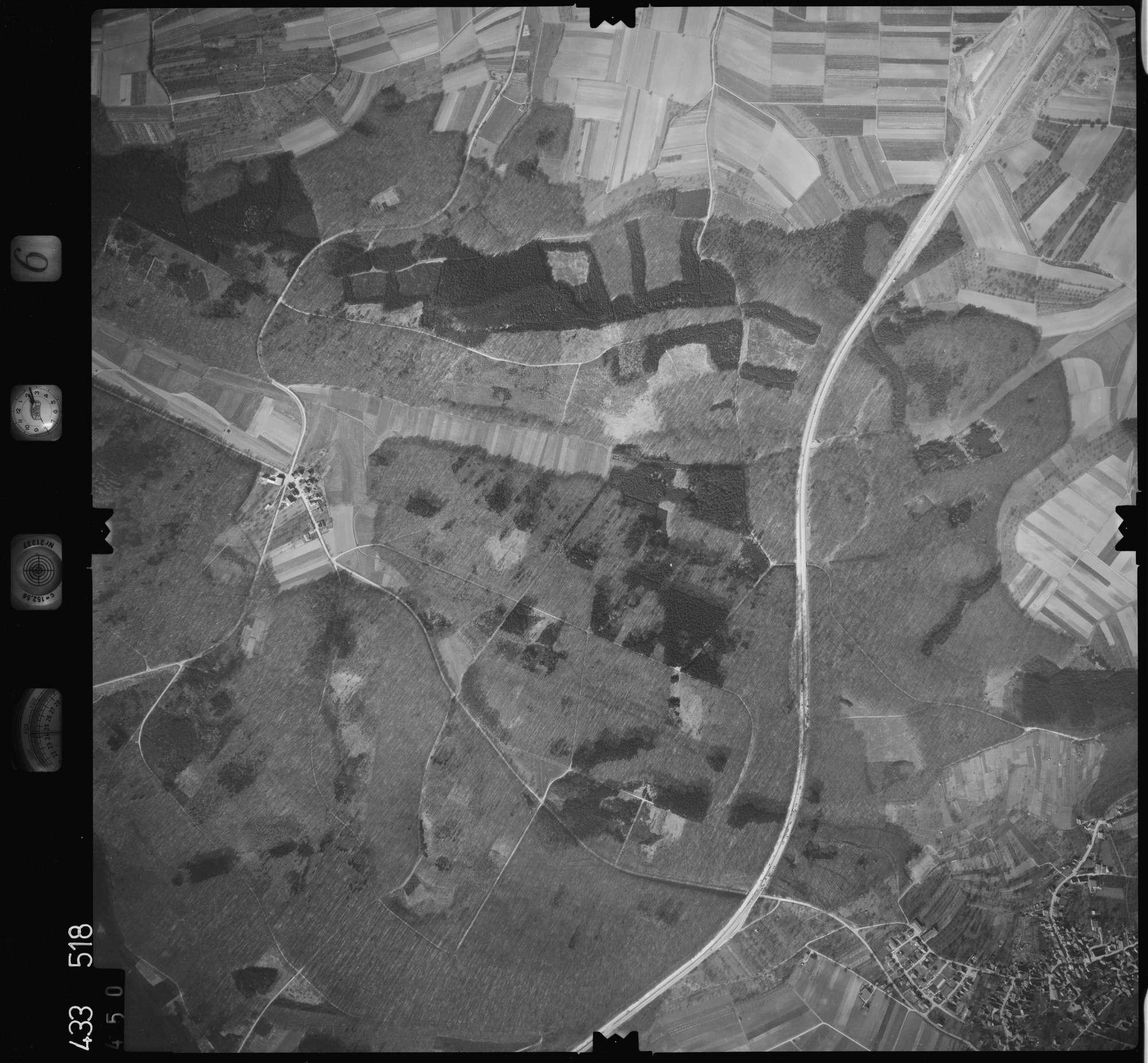 Luftbild: Film 6 Bildnr. 450, Bild 1