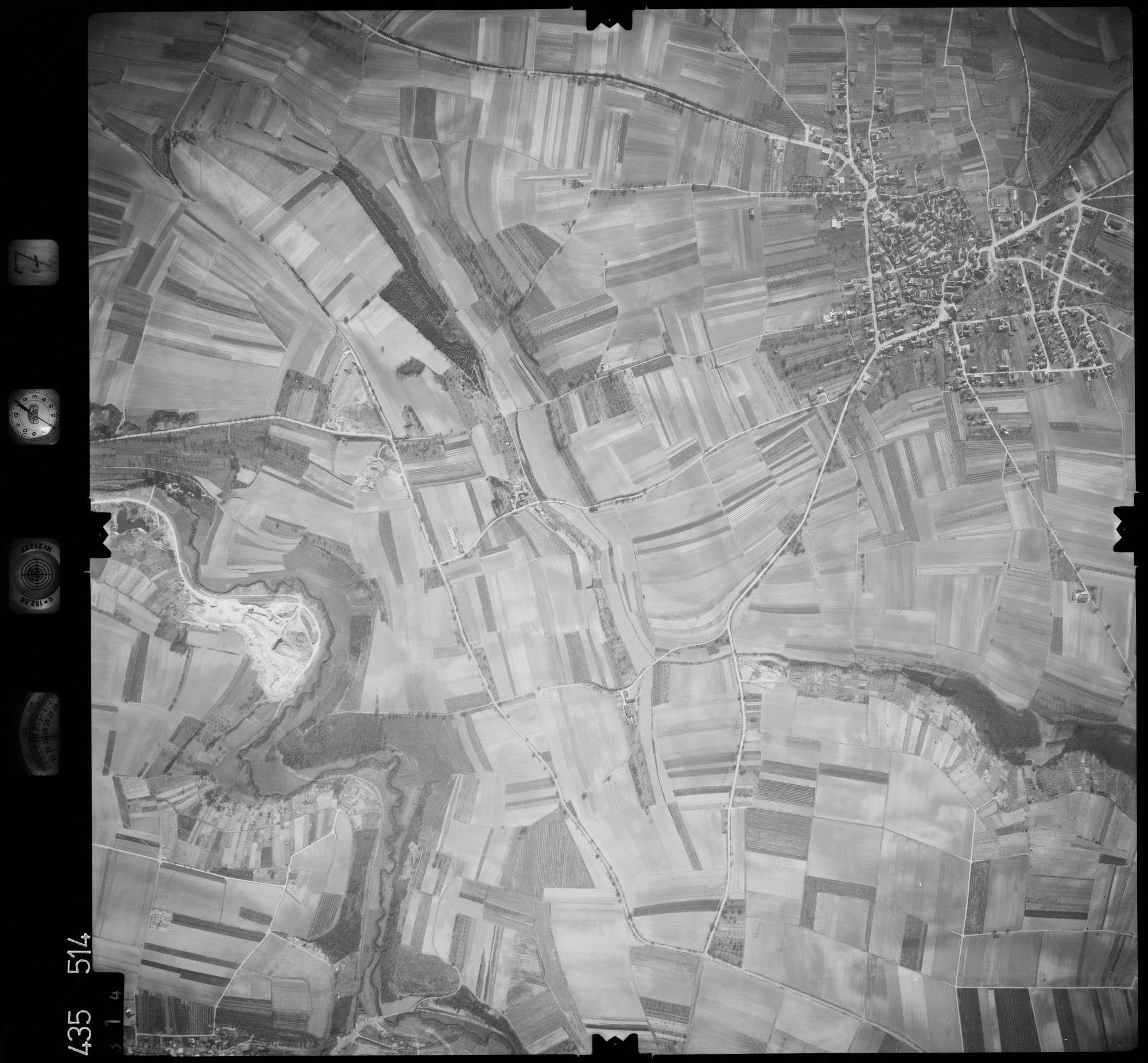 Luftbild: Film 7 Bildnr. 314, Bild 1
