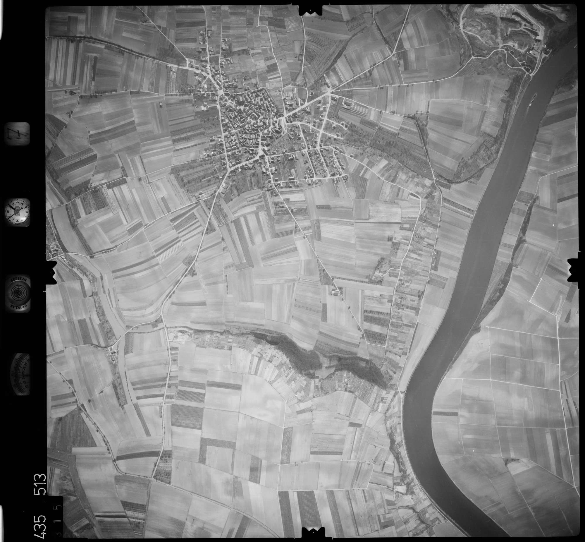 Luftbild: Film 7 Bildnr. 315, Bild 1