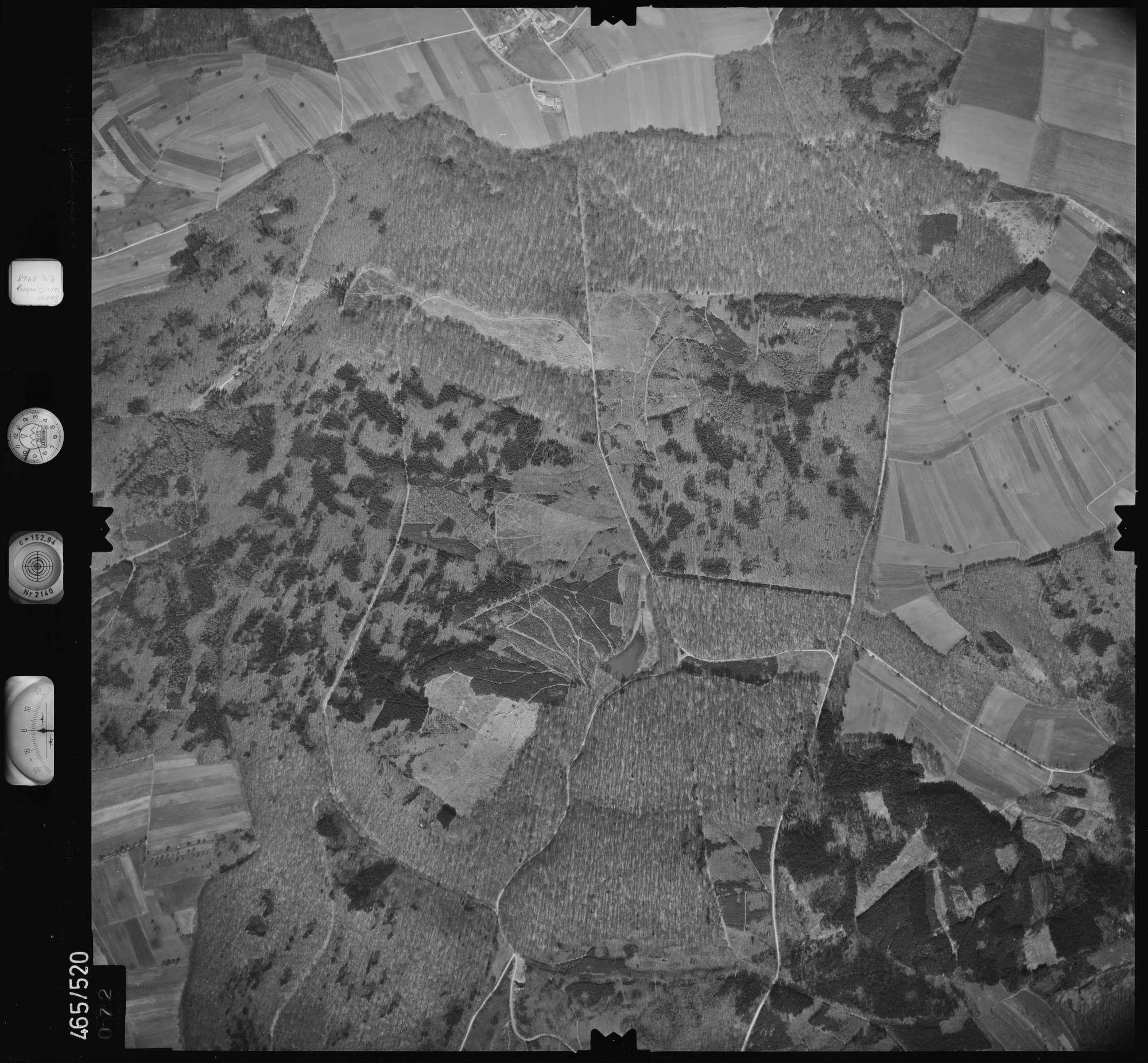 Luftbild: Film 102 Bildnr. 72, Bild 1