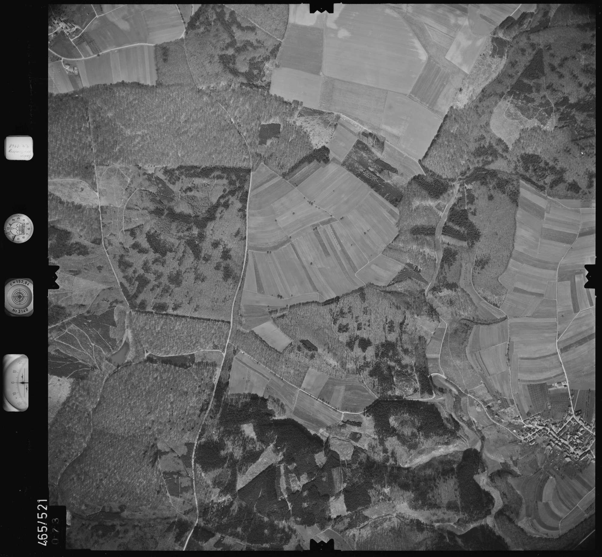 Luftbild: Film 102 Bildnr. 73, Bild 1