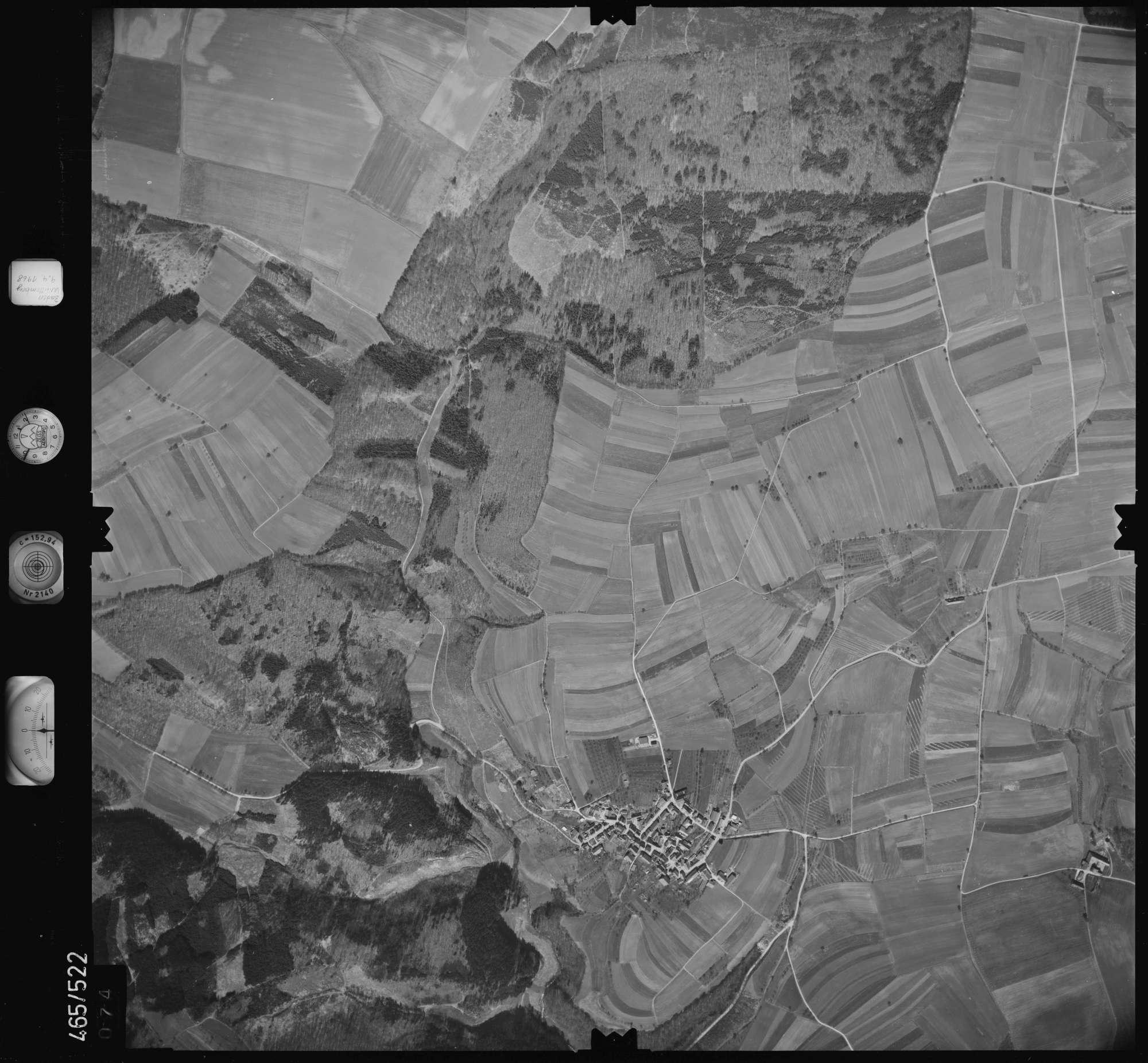 Luftbild: Film 102 Bildnr. 74, Bild 1