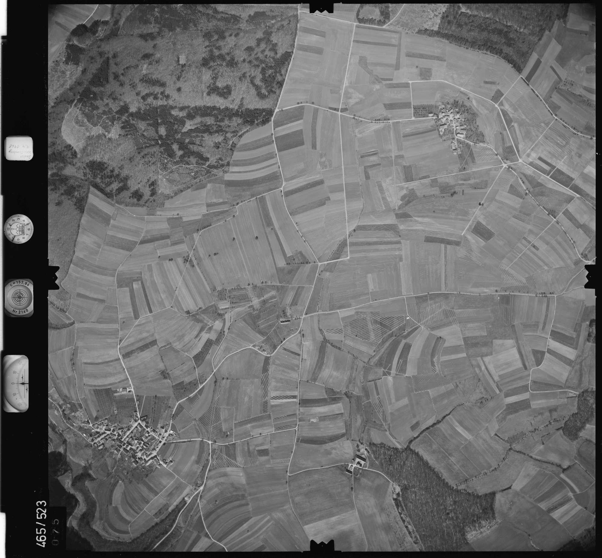 Luftbild: Film 102 Bildnr. 75, Bild 1
