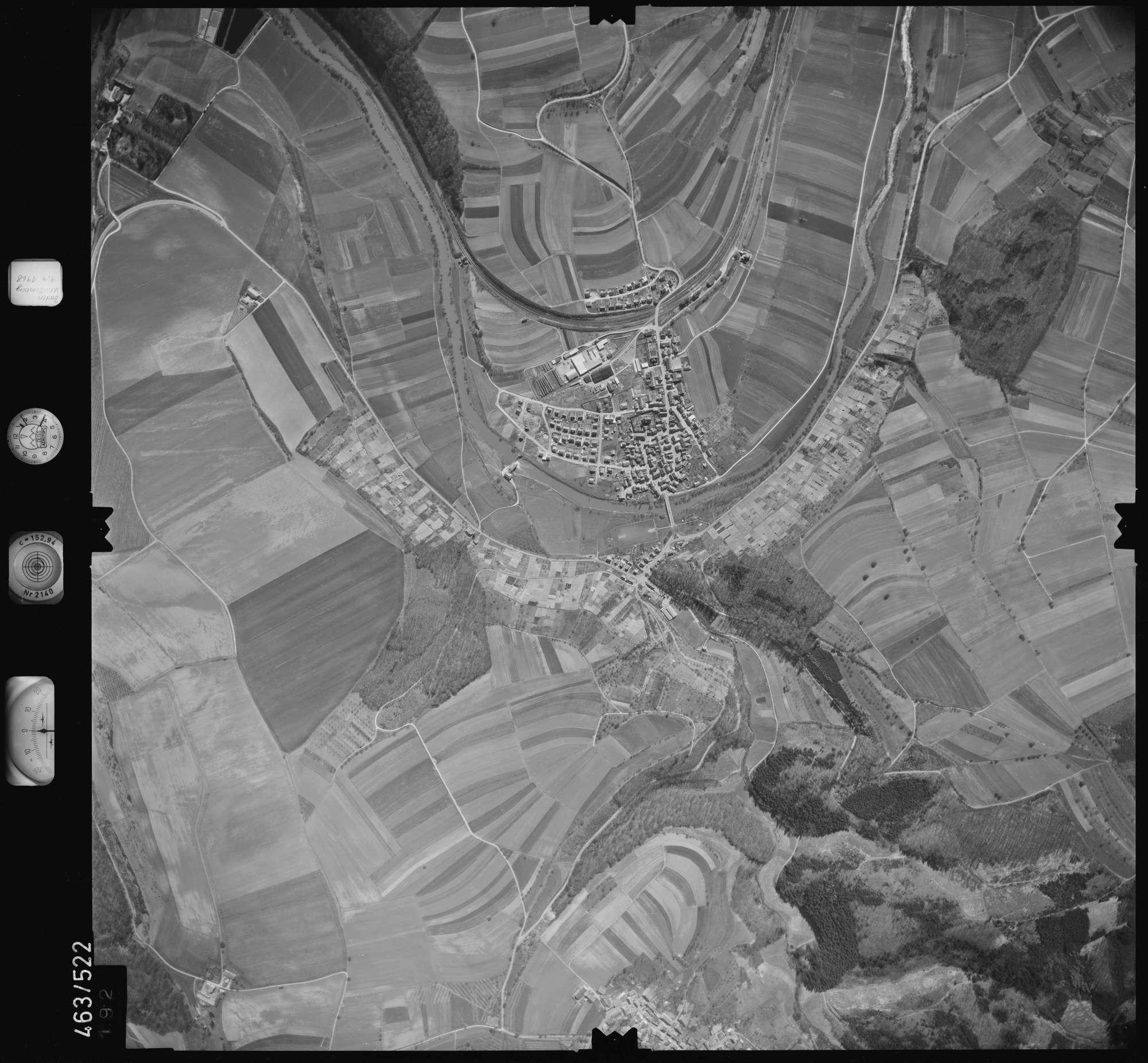 Luftbild: Film 102 Bildnr. 192, Bild 1