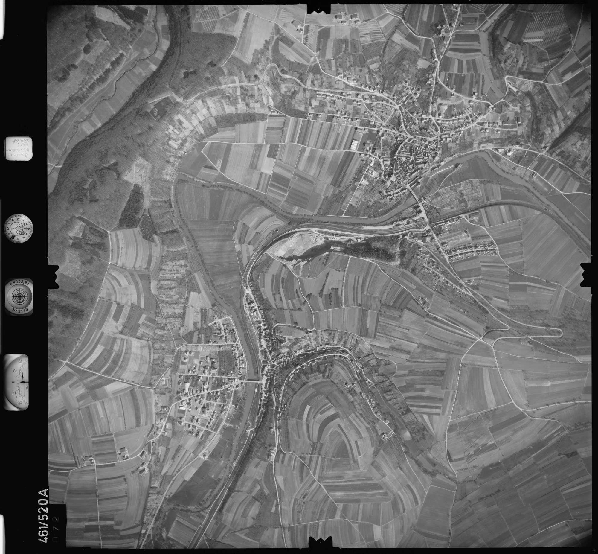 Luftbild: Film 103 Bildnr. 72, Bild 1