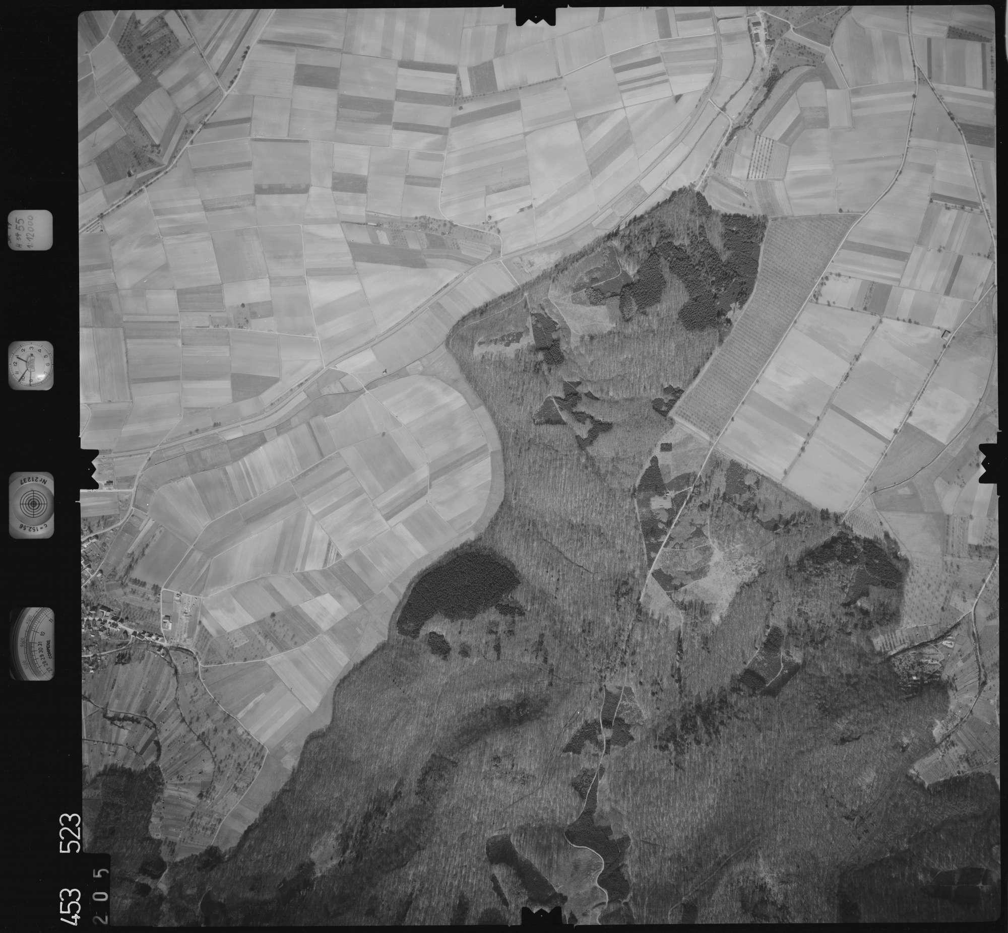 Luftbild: Film 16 Bildnr. 205, Bild 1