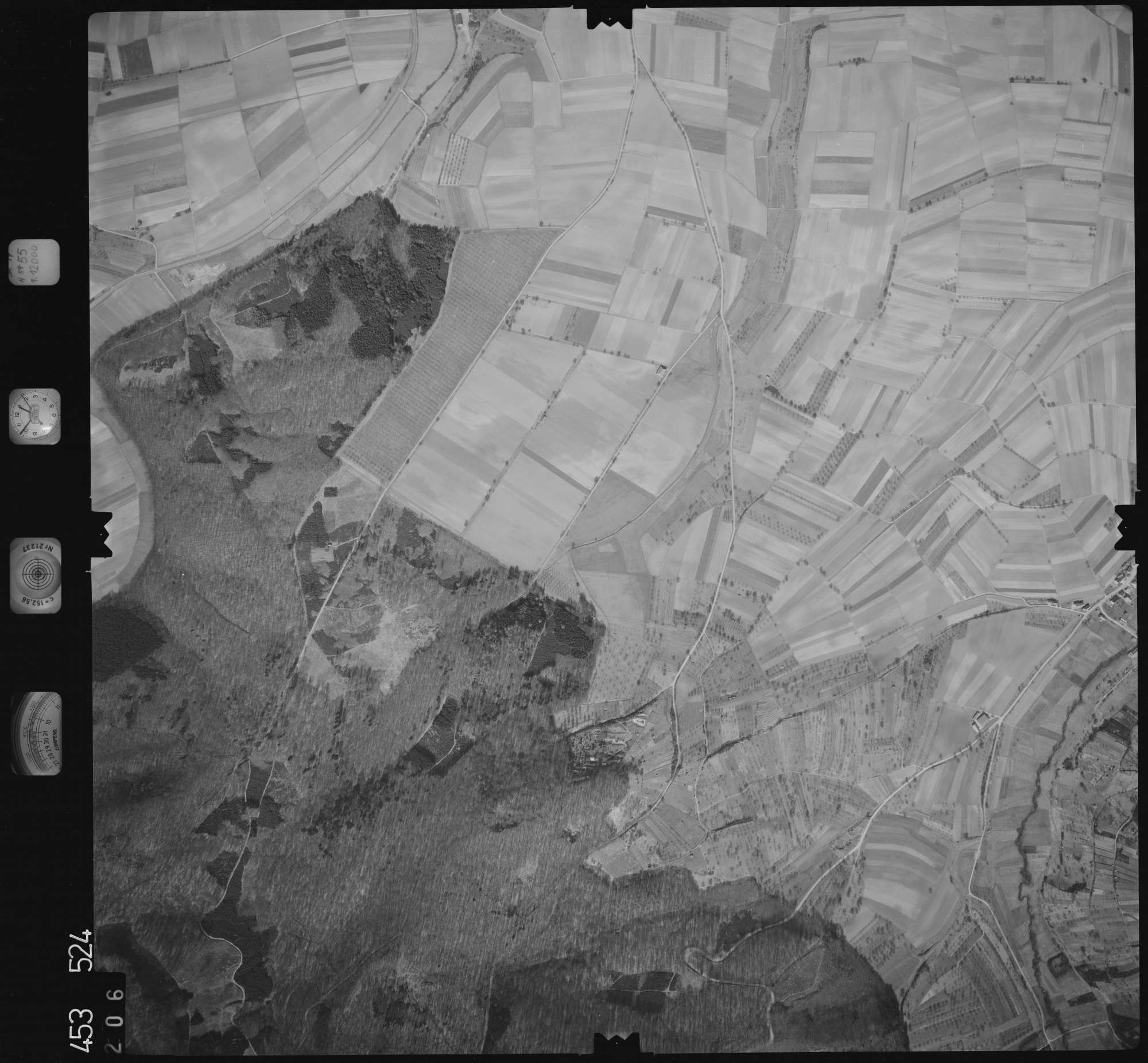 Luftbild: Film 16 Bildnr. 206, Bild 1