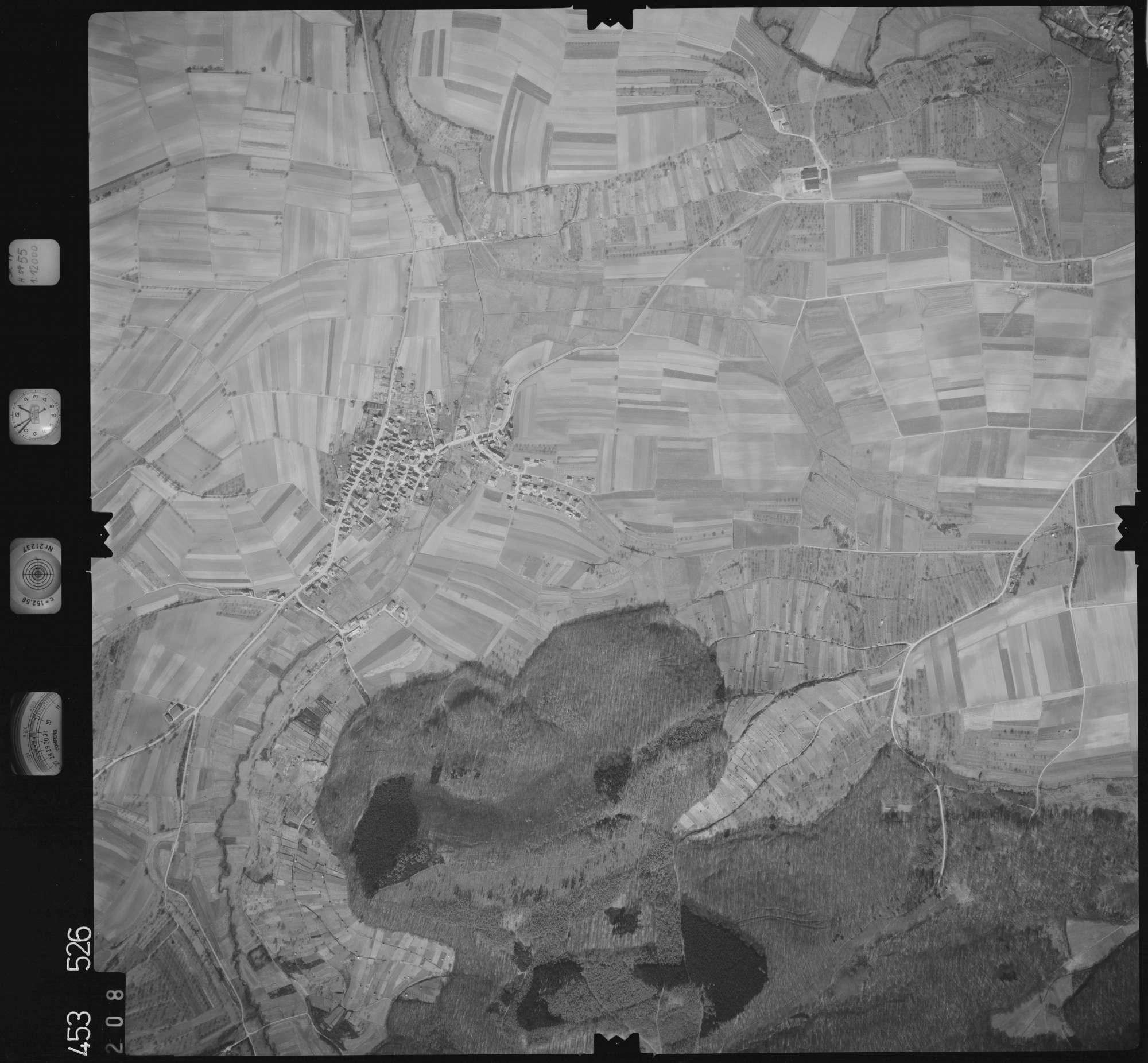 Luftbild: Film 16 Bildnr. 208, Bild 1