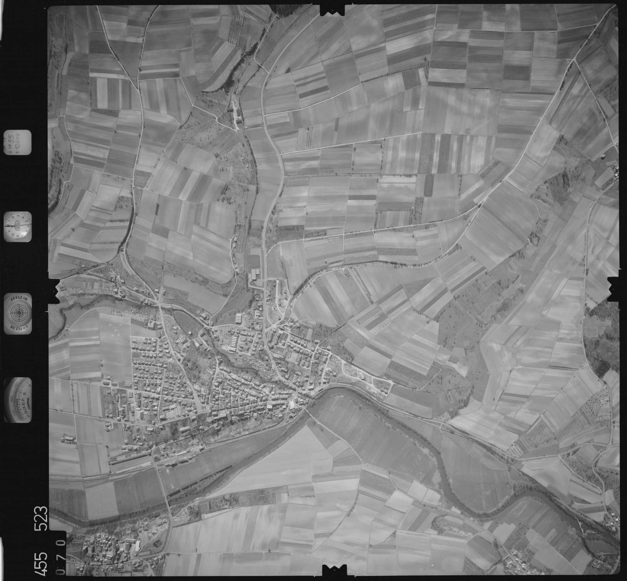 Luftbild: Film 17 Bildnr. 70, Bild 1