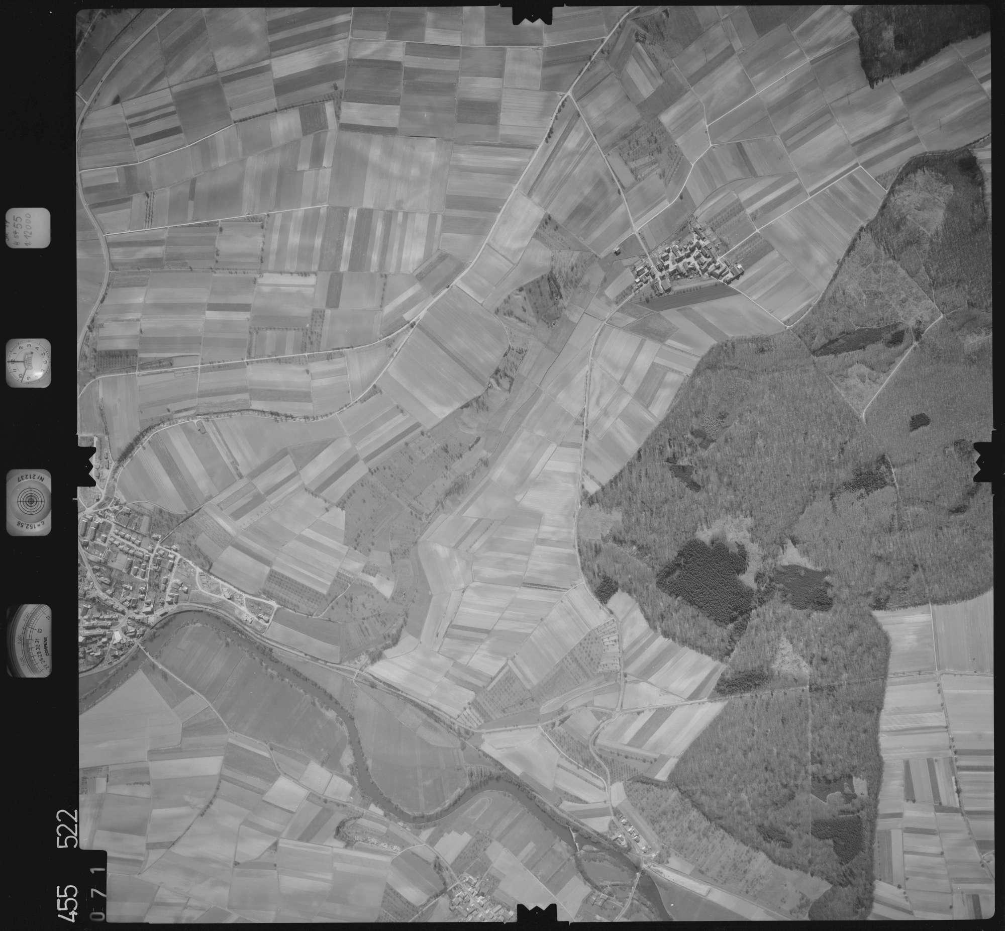 Luftbild: Film 17 Bildnr. 71, Bild 1