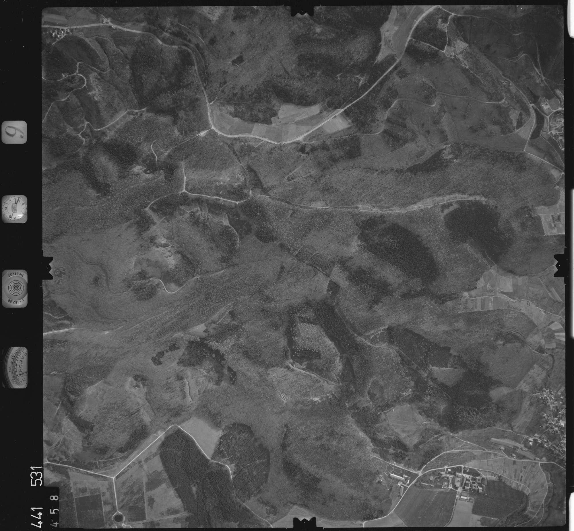 Luftbild: Film 10 Bildnr. 458, Bild 1