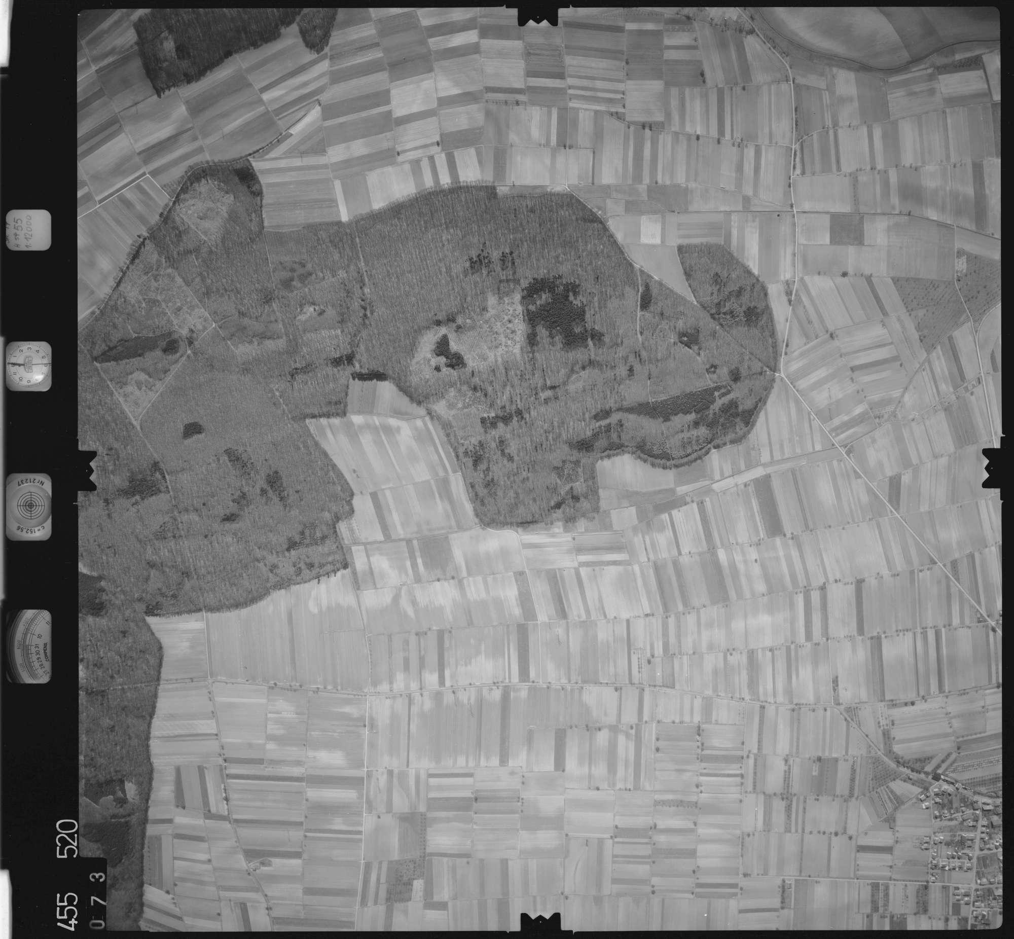Luftbild: Film 17 Bildnr. 73, Bild 1