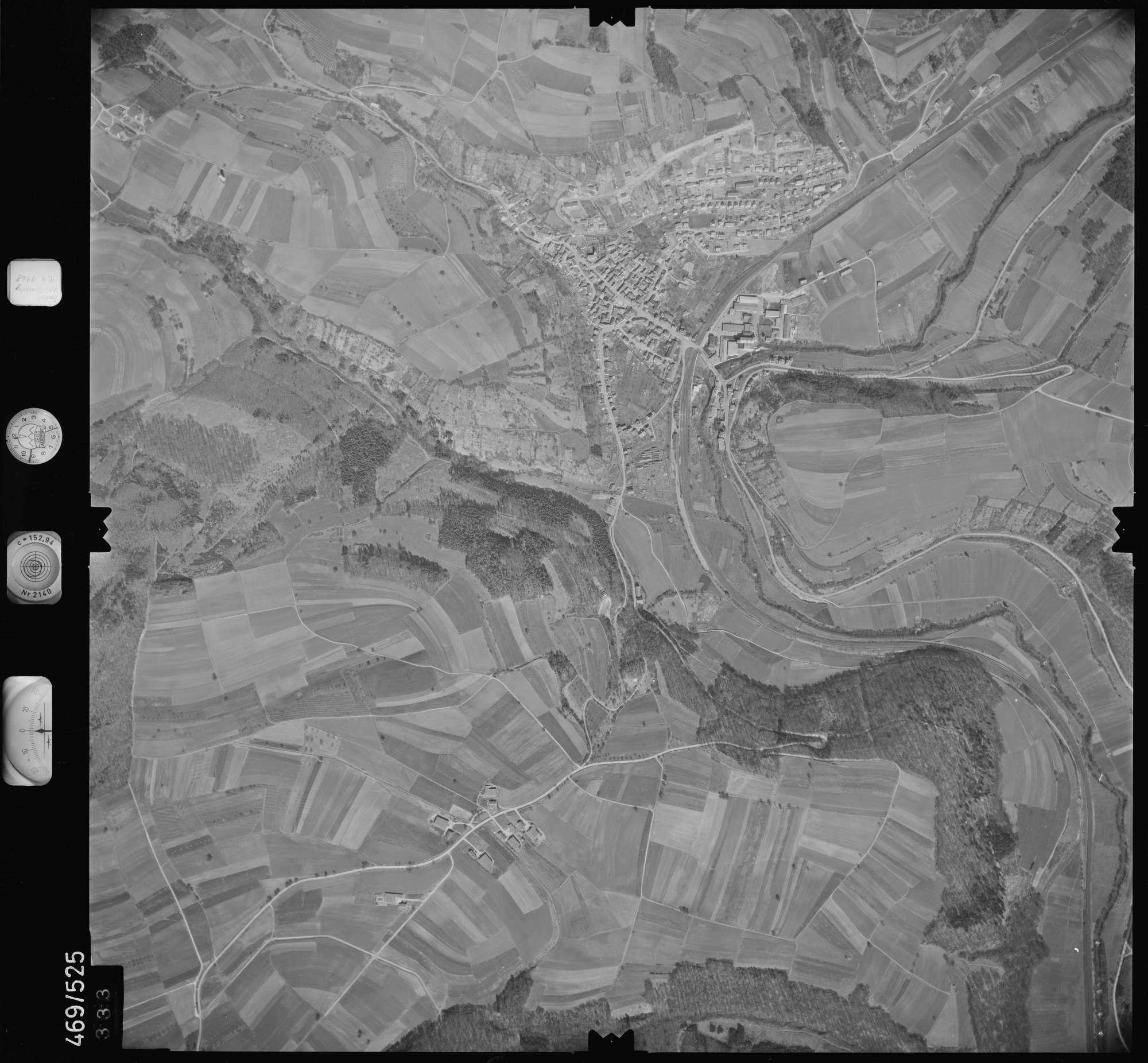 Luftbild: Film 101 Bildnr. 333, Bild 1