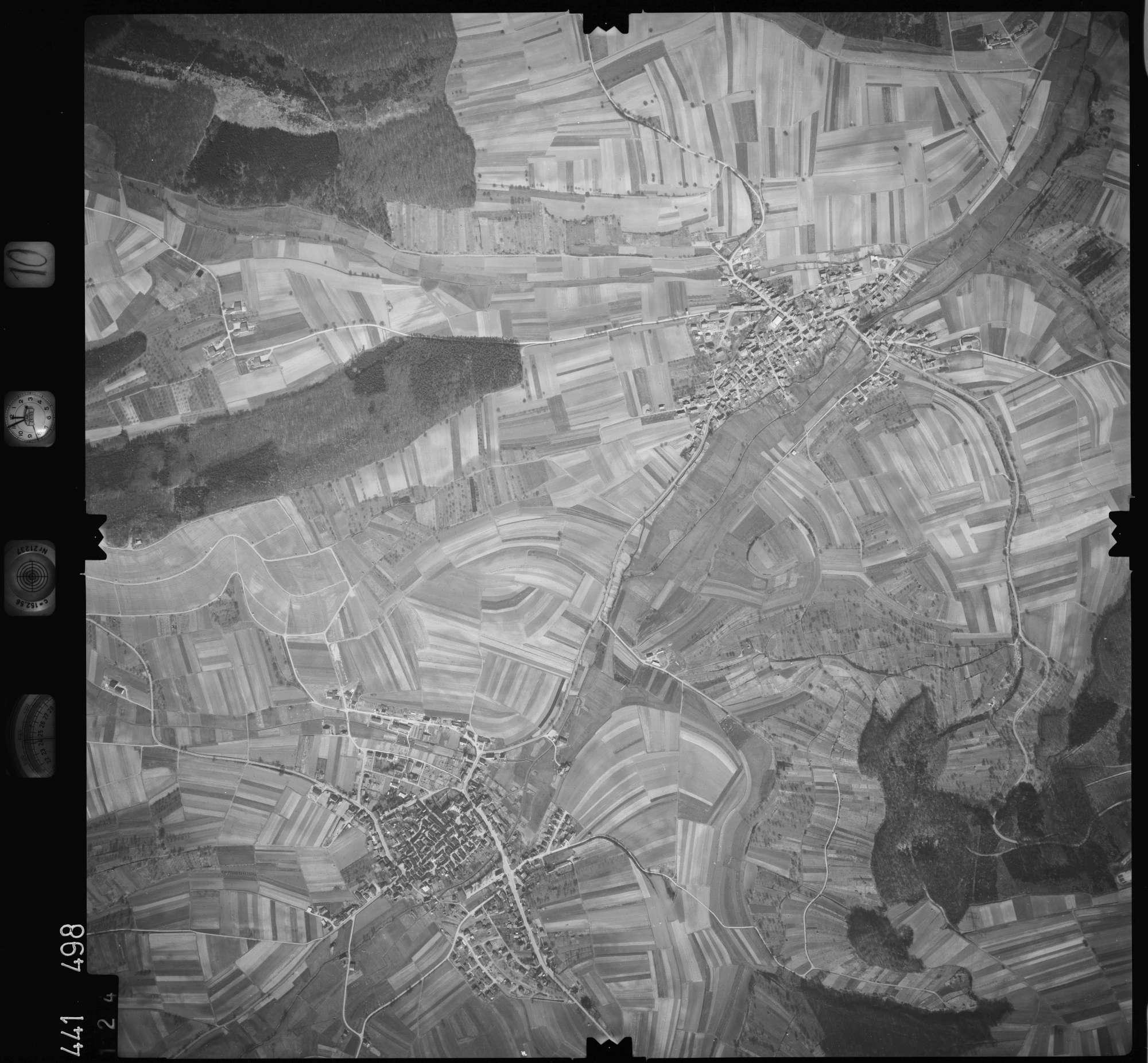 Luftbild: Film 10 Bildnr. 124, Bild 1