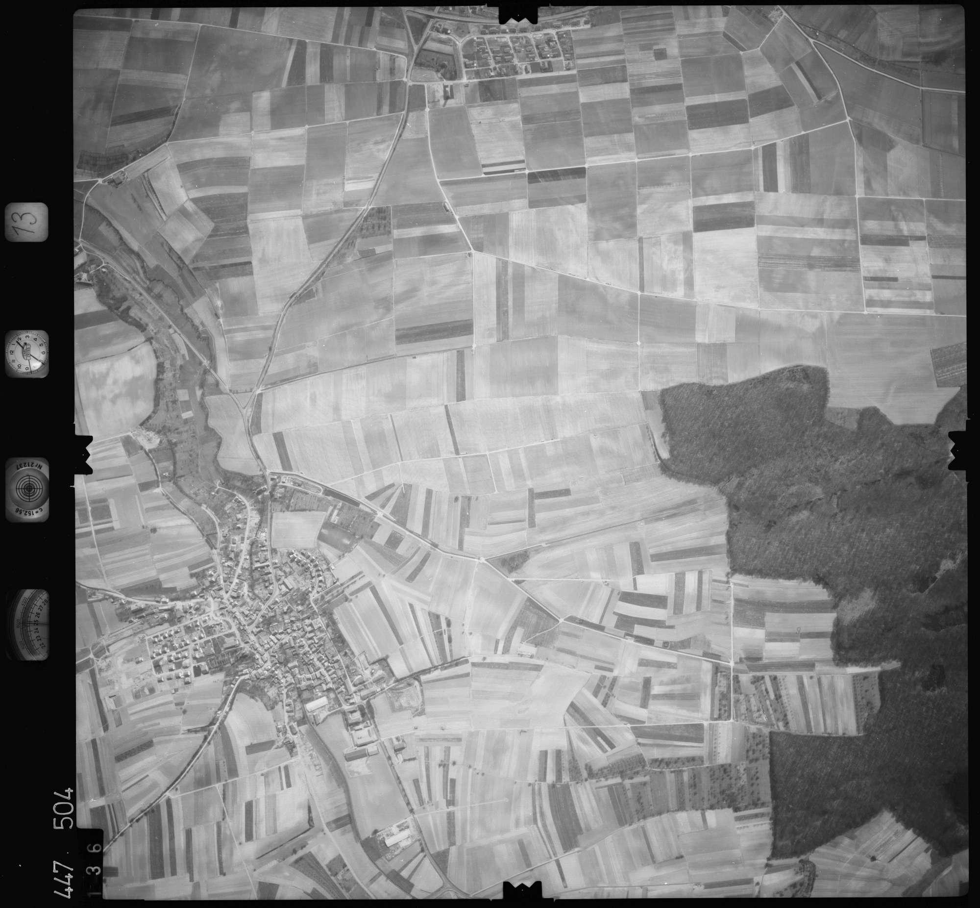 Luftbild: Film 13 Bildnr. 136, Bild 1