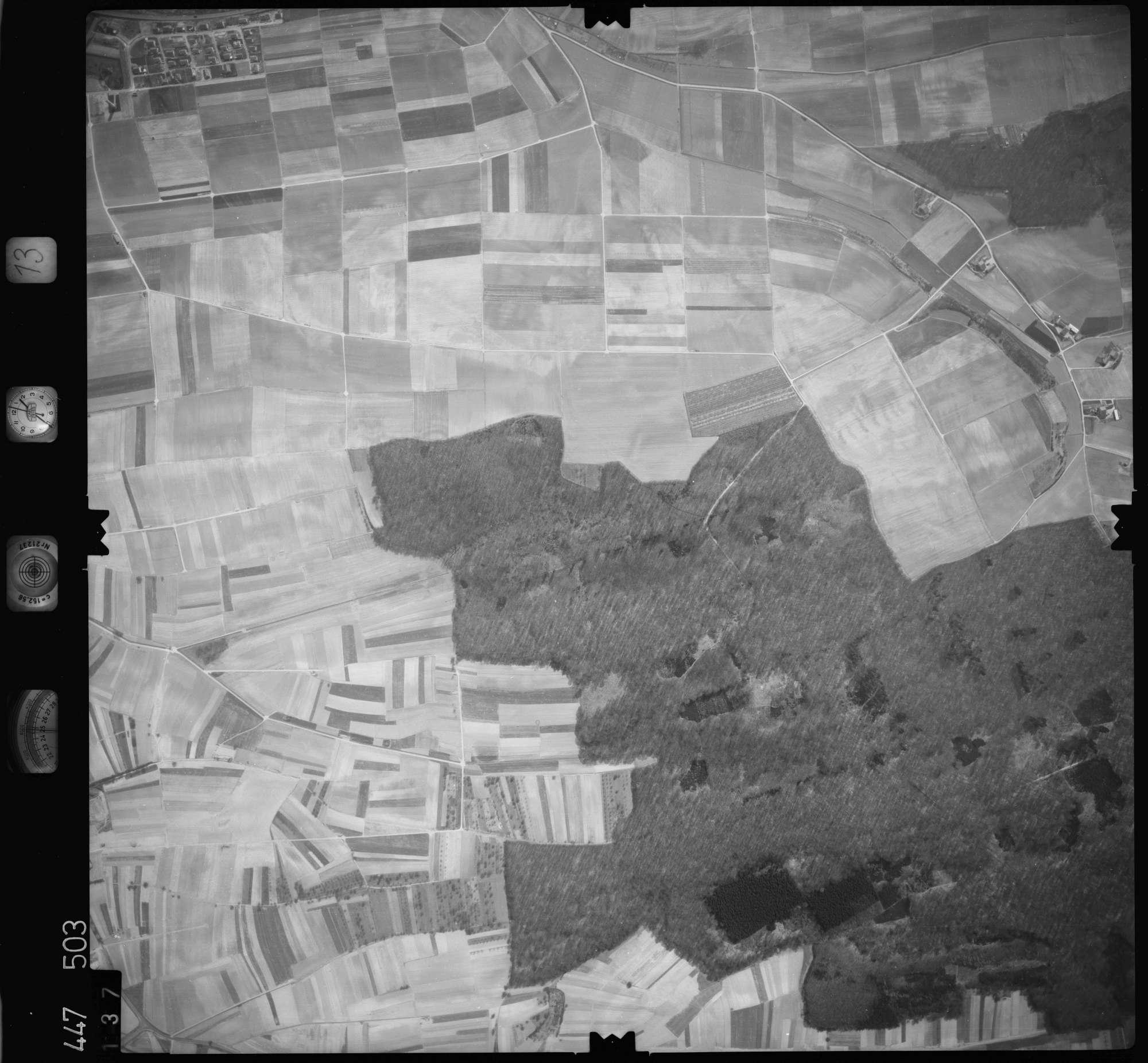 Luftbild: Film 13 Bildnr. 137, Bild 1