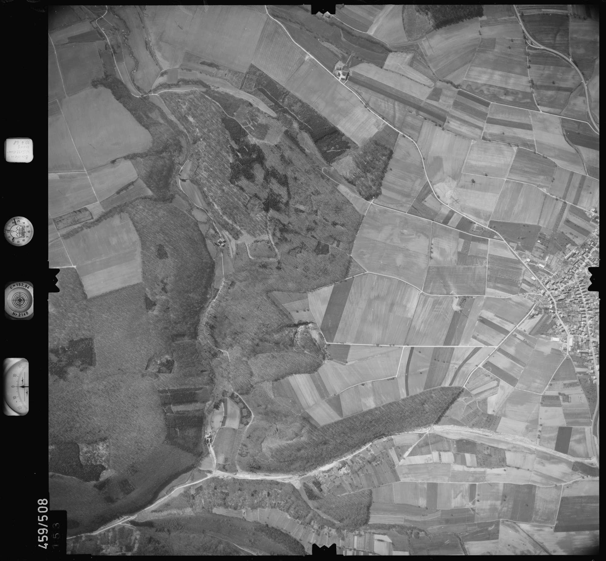 Luftbild: Film 103 Bildnr. 153, Bild 1