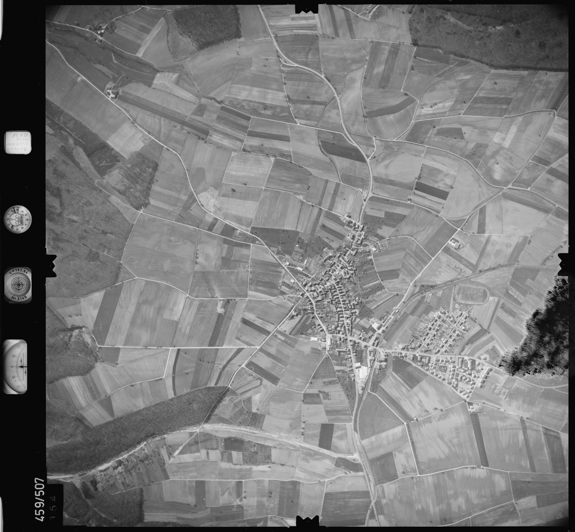 Luftbild: Film 103 Bildnr. 154, Bild 1