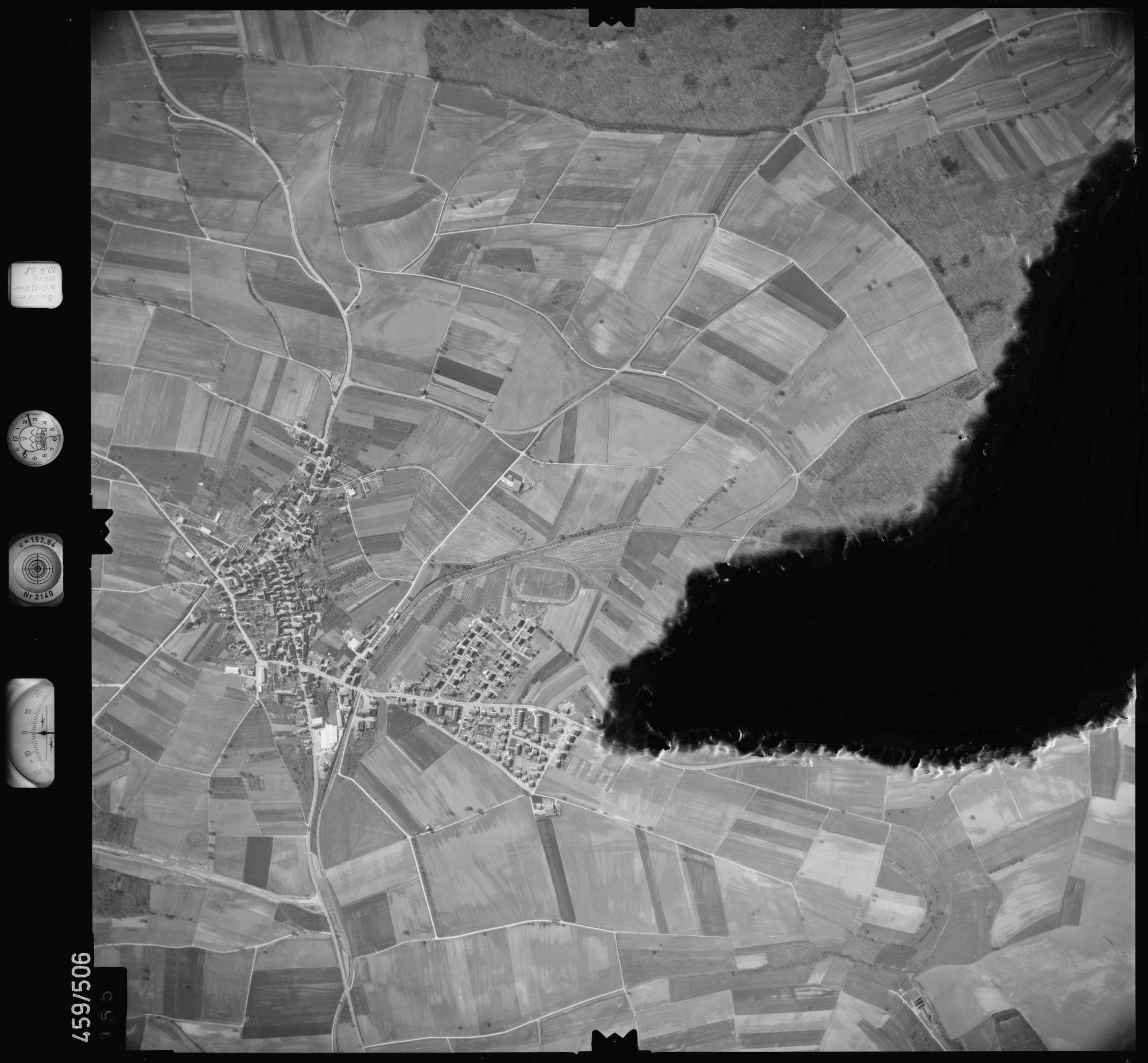 Luftbild: Film 103 Bildnr. 155, Bild 1
