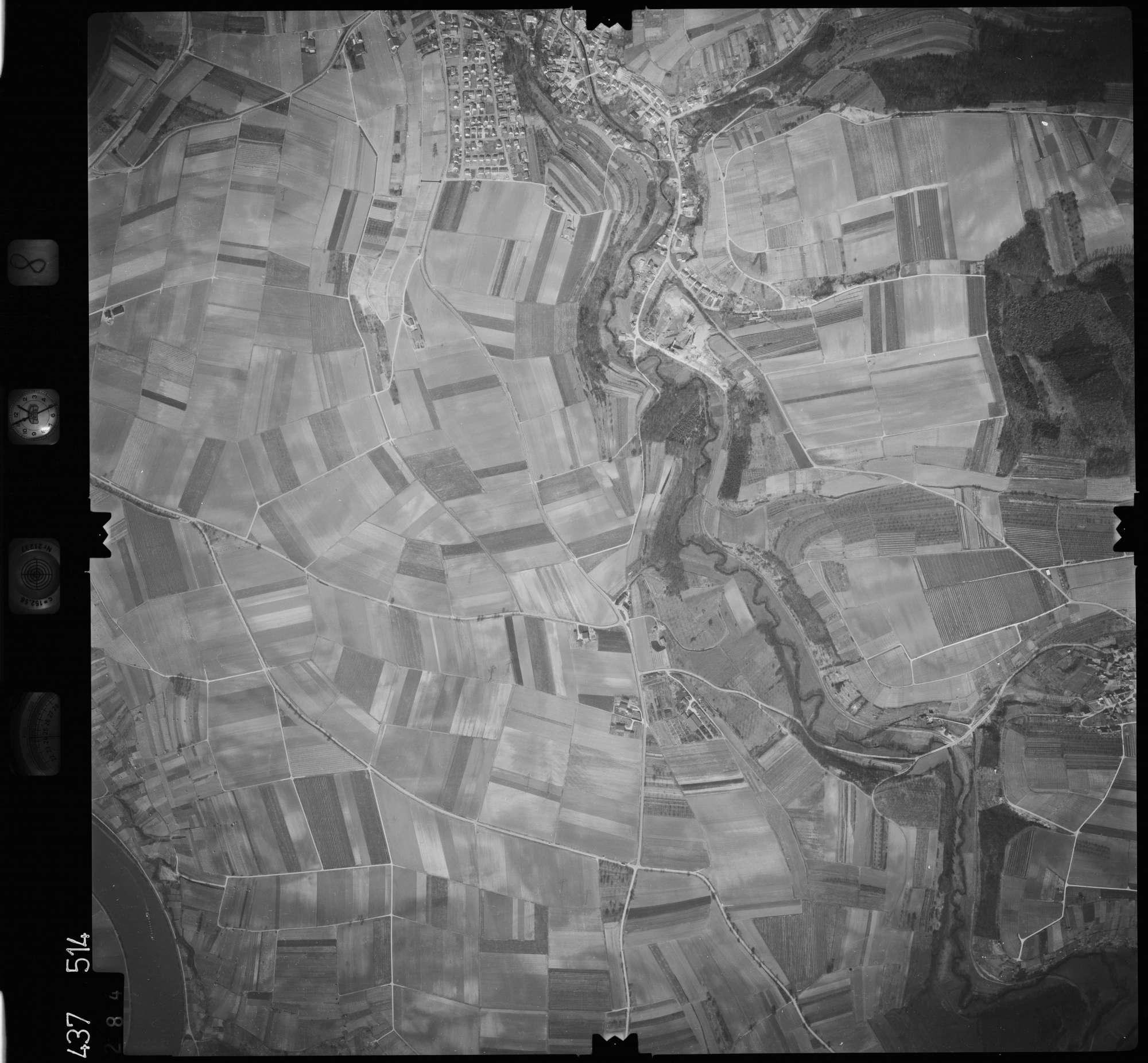 Luftbild: Film 8 Bildnr. 284, Bild 1