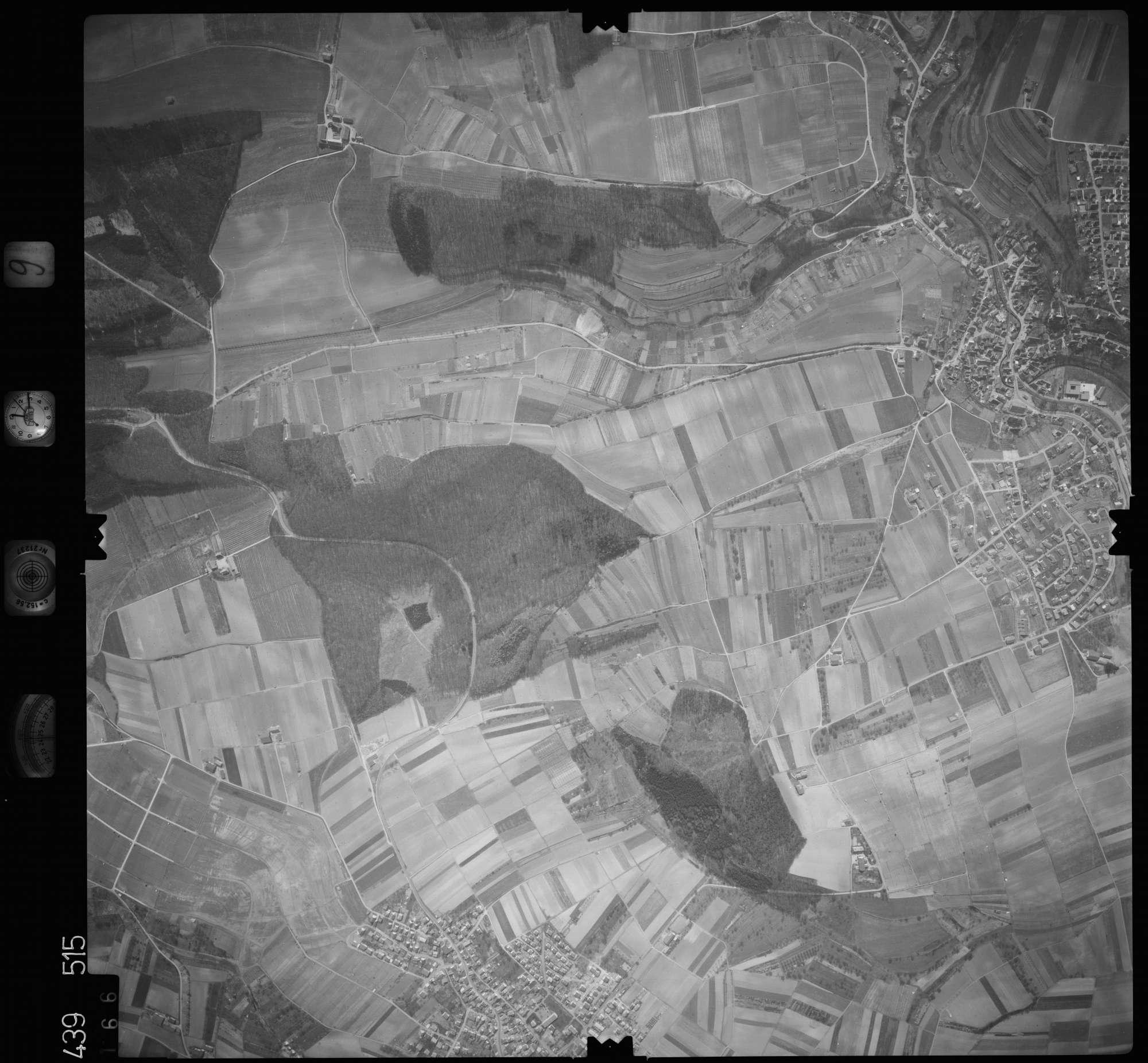 Luftbild: Film 9 Bildnr. 166, Bild 1