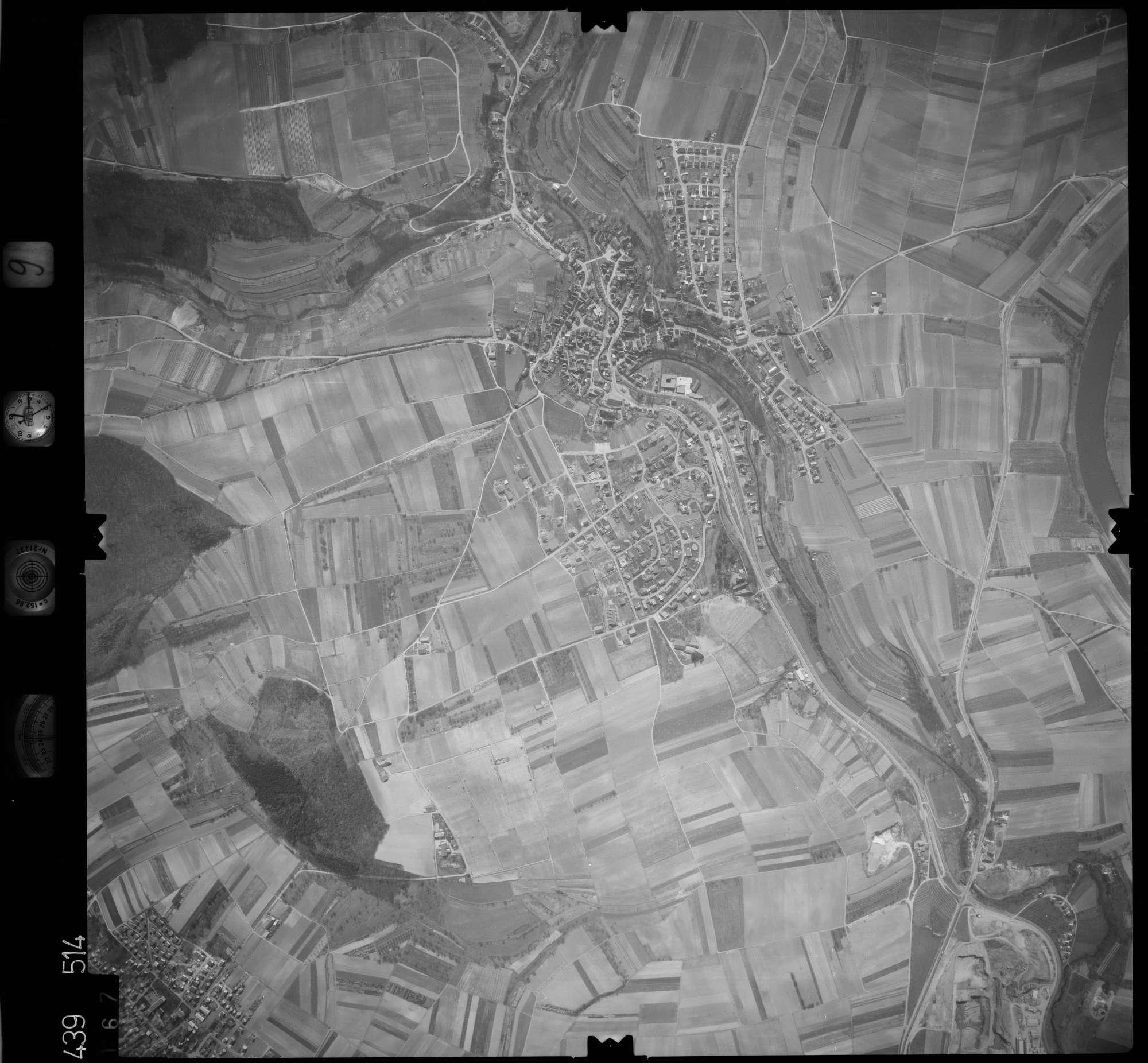 Luftbild: Film 9 Bildnr. 167, Bild 1